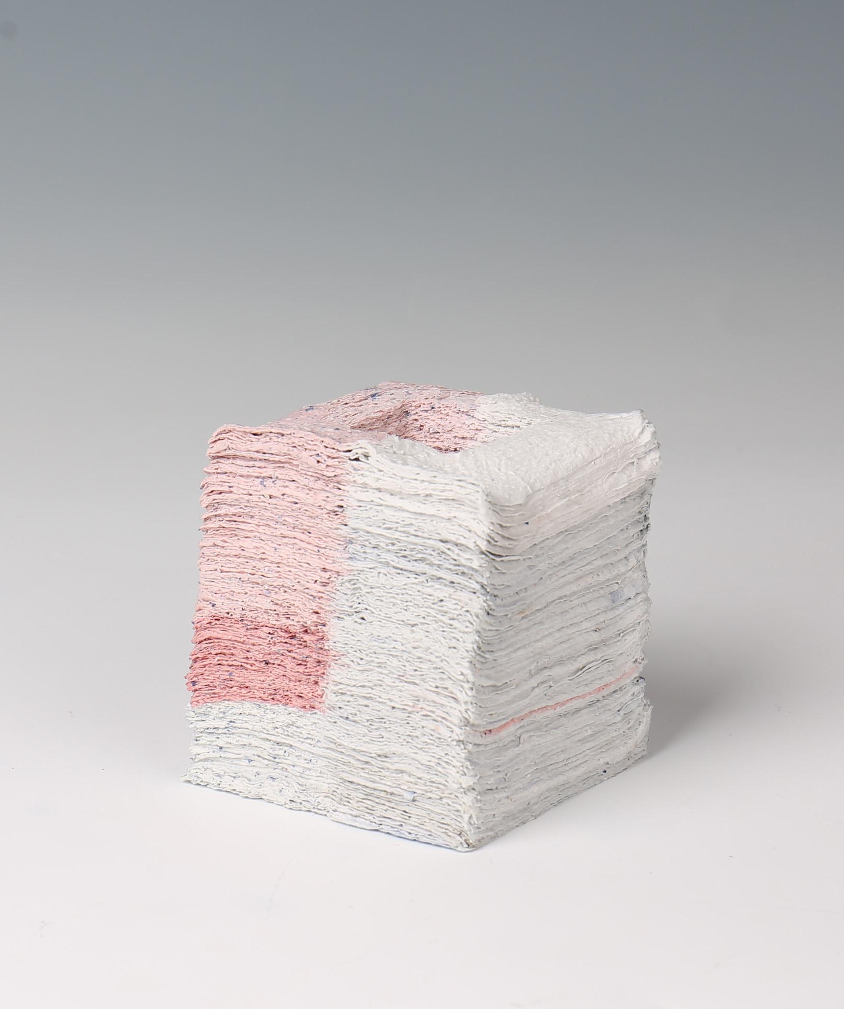 "<span class=""link fancybox-details-link""><a href=""/exhibitions/32/works/artworks99/"">View Detail Page</a></span><div class=""artist""><strong>Jongjin Park</strong></div><div class=""title""><em>Artistic Stratum_W0P2-5</em></div><div class=""medium"">300 sheets of tissue paper, porcelain with stain</div><div class=""dimensions"">15 x 12 x 12 cm<br>5 7/8 x 4 3/4 x 4 3/4 in.</div>"