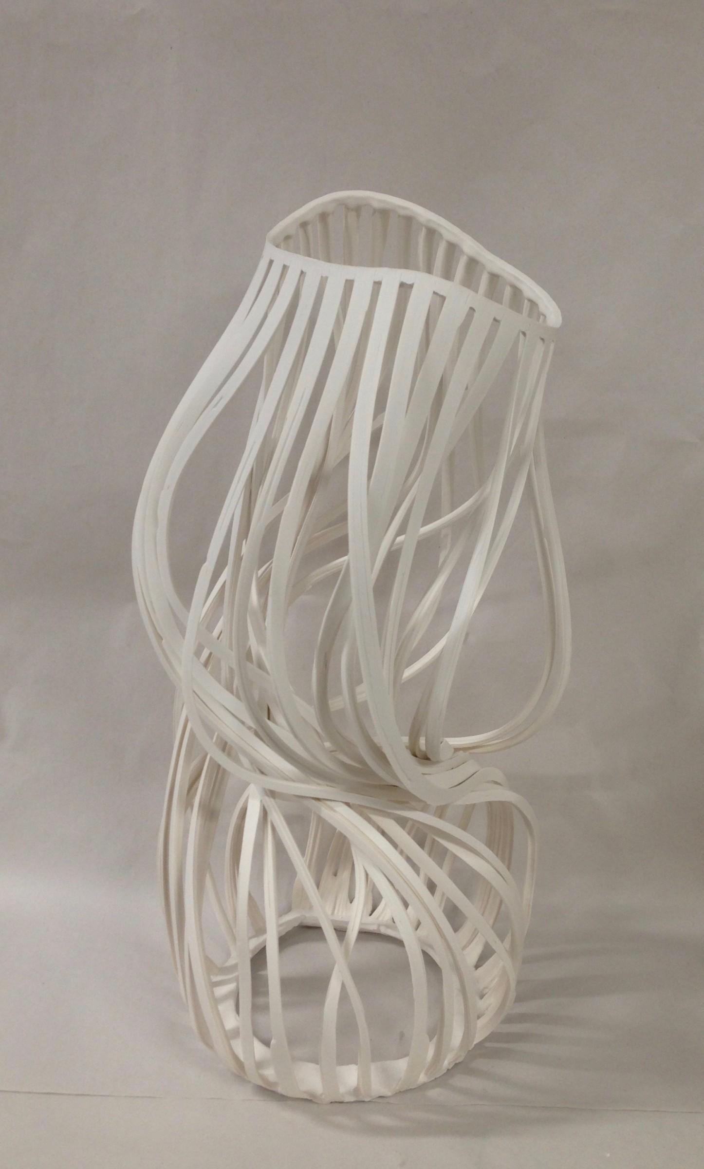 "<span class=""link fancybox-details-link""><a href=""/exhibitions/9/works/artworks2179/"">View Detail Page</a></span><div class=""artist""><strong>Lauren Nauman</strong></div><div class=""title""><em>Lines, 48 White</em>, 2018</div><div class=""medium"">Porcelain</div><div class=""dimensions"">48 x 25 x 23 cm<br>18 7/8 x 9 7/8 x 9 1/8 in.</div>"