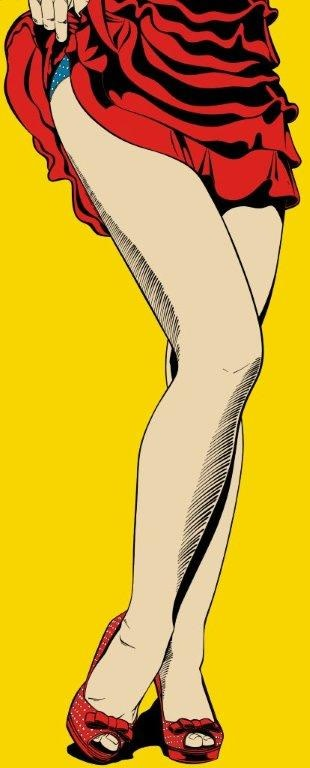 """<span class=""""link fancybox-details-link""""><a href=""""/exhibitions/37/works/artworks551/"""">View Detail Page</a></span><div class=""""artist""""><strong>Deborah Azzopardi</strong></div><div class=""""title""""><em>Long Legs</em>, 2010</div><div class=""""medium"""">Acrylic on board</div><div class=""""dimensions"""">194.3 x 82.5 cm<br>76 1/2 x 32 1/2 in.</div>"""