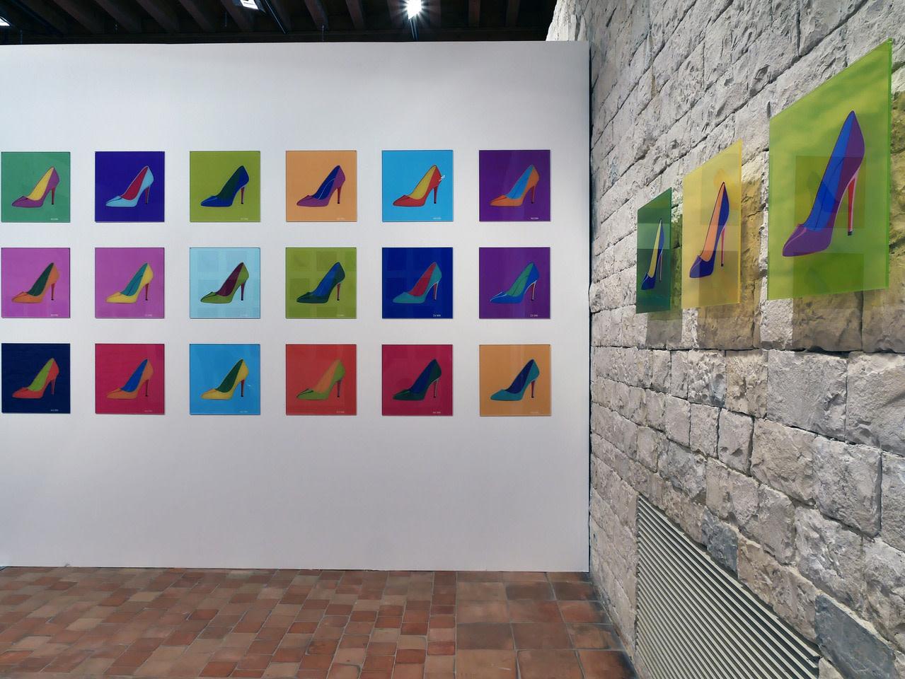"""<span class=""""link fancybox-details-link""""><a href=""""/exhibitions/19/works/artworks2178/"""">View Detail Page</a></span><div class=""""artist""""><strong>Nicolas Saint Grégoire</strong></div><div class=""""title""""><em>Louboutin Series</em>, 2017</div><div class=""""medium"""">Print Under Perspex</div><div class=""""dimensions"""">Each artwork: 40 x 40 cm<br>Each artwork: 15 3/4 x 15 3/4 in.</div><div class=""""edition_details"""">Edition of 100</div>"""