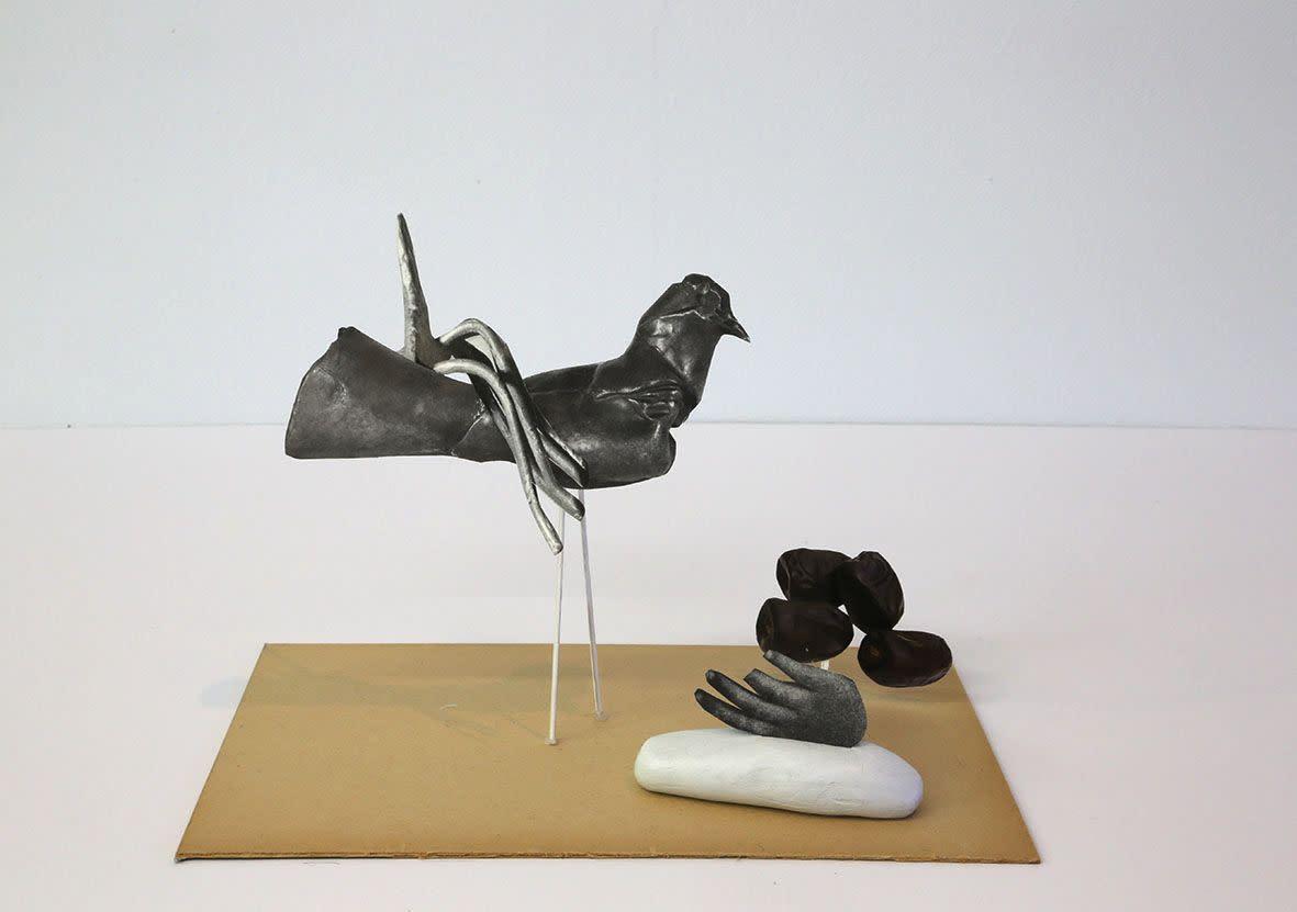 "<span class=""link fancybox-details-link""><a href=""/exhibitions/133/works/artworks9433/"">View Detail Page</a></span><div class=""artist""><strong> Geoffrey Farmer</strong></div><div class=""title""><em>Universal Sculpture Series 4</em>, 2013</div><div class=""medium"">paper, glue, putty</div><div class=""dimensions"">20.3 x 12.7 x 15.2 cm<br>7 15/16 x 5 x 5 15/16 in</div>"