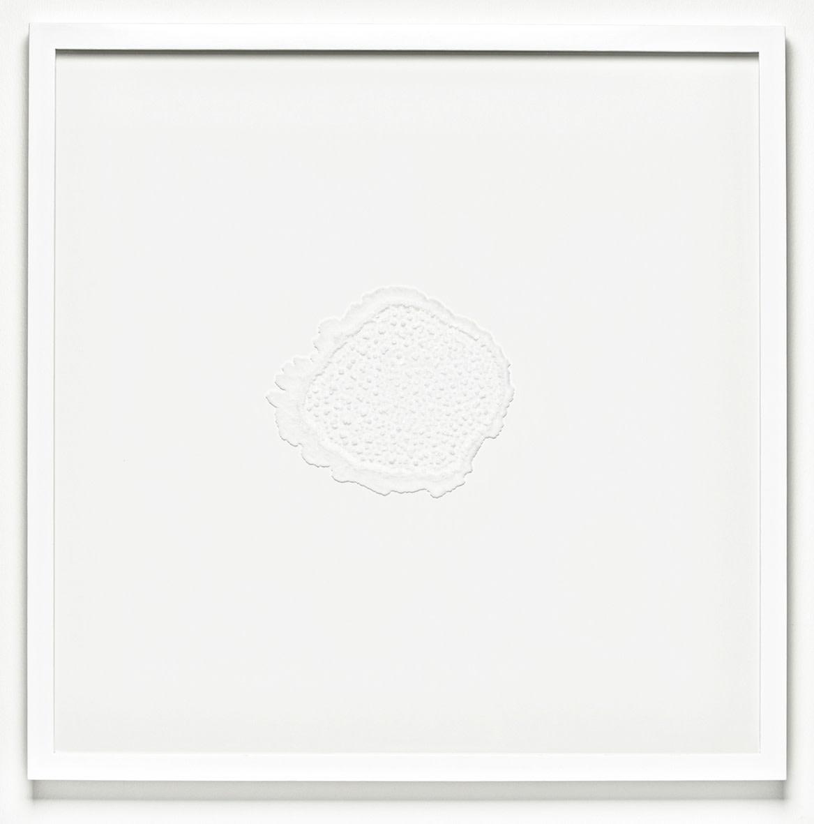 """<span class=""""link fancybox-details-link""""><a href=""""/exhibitions/129/works/artworks9036/"""">View Detail Page</a></span><div class=""""artist""""><strong>RAGNA RÓBERTSDÓTTIR</strong></div><div class=""""title""""><em>Mindscape (salt)</em>, 2013</div><div class=""""medium"""">sea salt on glass</div><div class=""""dimensions"""">72.0 x 72.0 x 4.5 cm<br>28 1/8 x 28 1/8 x 1 1/4 in</div>"""