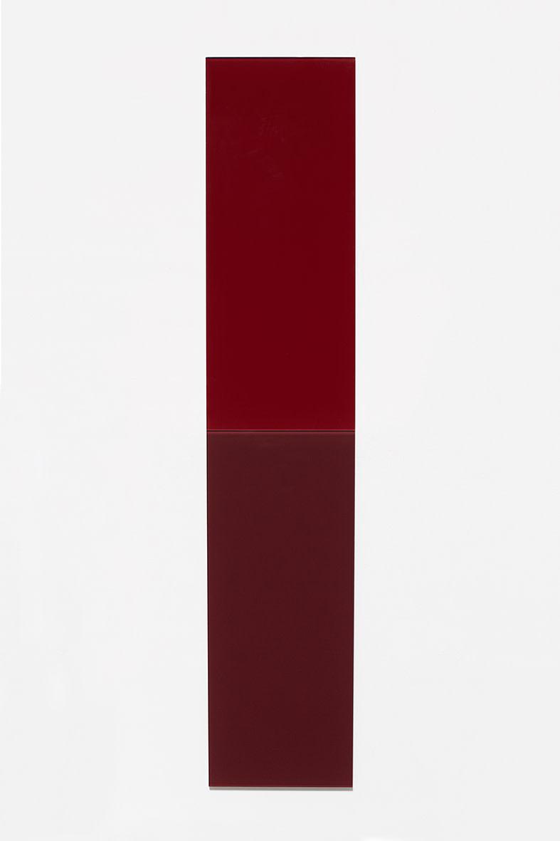 """<span class=""""link fancybox-details-link""""><a href=""""/exhibitions/150/works/artworks12496/"""">View Detail Page</a></span><div class=""""artist""""><strong>ÞÓR VIGFÚSSON</strong></div><div class=""""title"""">Untitled, 2014</div><div class=""""medium"""">enameled glass</div><div class=""""dimensions"""">240 x 48 cm<br>each unit: 120 x 48 cm</div>"""