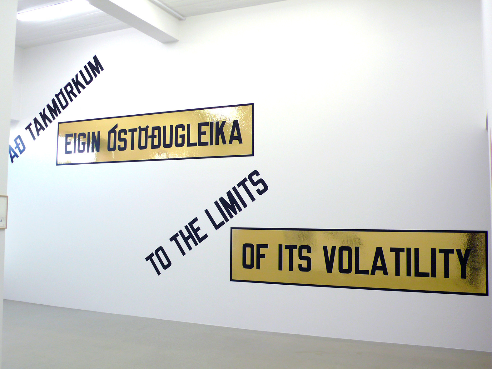 "<span class=""link fancybox-details-link""><a href=""/exhibitions/111/works/artworks5713/"">View Detail Page</a></span><div class=""artist""><strong>LAWRENCE WEINER</strong></div><div class=""title""><em>To the Limits of It´s Volatility</em>, 2009</div><div class=""signed_and_dated"">certificate</div><div class=""medium"">language + the materials referred to</div><div class=""dimensions"">dimensions variable</div>"