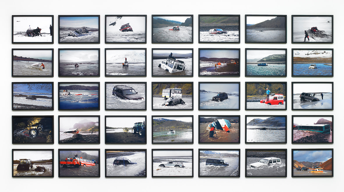 <span class=&#34;link fancybox-details-link&#34;><a href=&#34;/exhibitions/107/works/artworks13220/&#34;>View Detail Page</a></span><div class=&#34;artist&#34;><strong>&#211;LAFUR EL&#205;ASSON</strong></div><div class=&#34;title&#34;><em>Cars in rivers</em>, 2009</div><div class=&#34;signed_and_dated&#34;>certificate</div><div class=&#34;medium&#34;>c-print</div><div class=&#34;dimensions&#34;>21 x 31 cm each<br>Overall dimension: 129 x 264.8 cm</div><div class=&#34;edition_details&#34;></div>