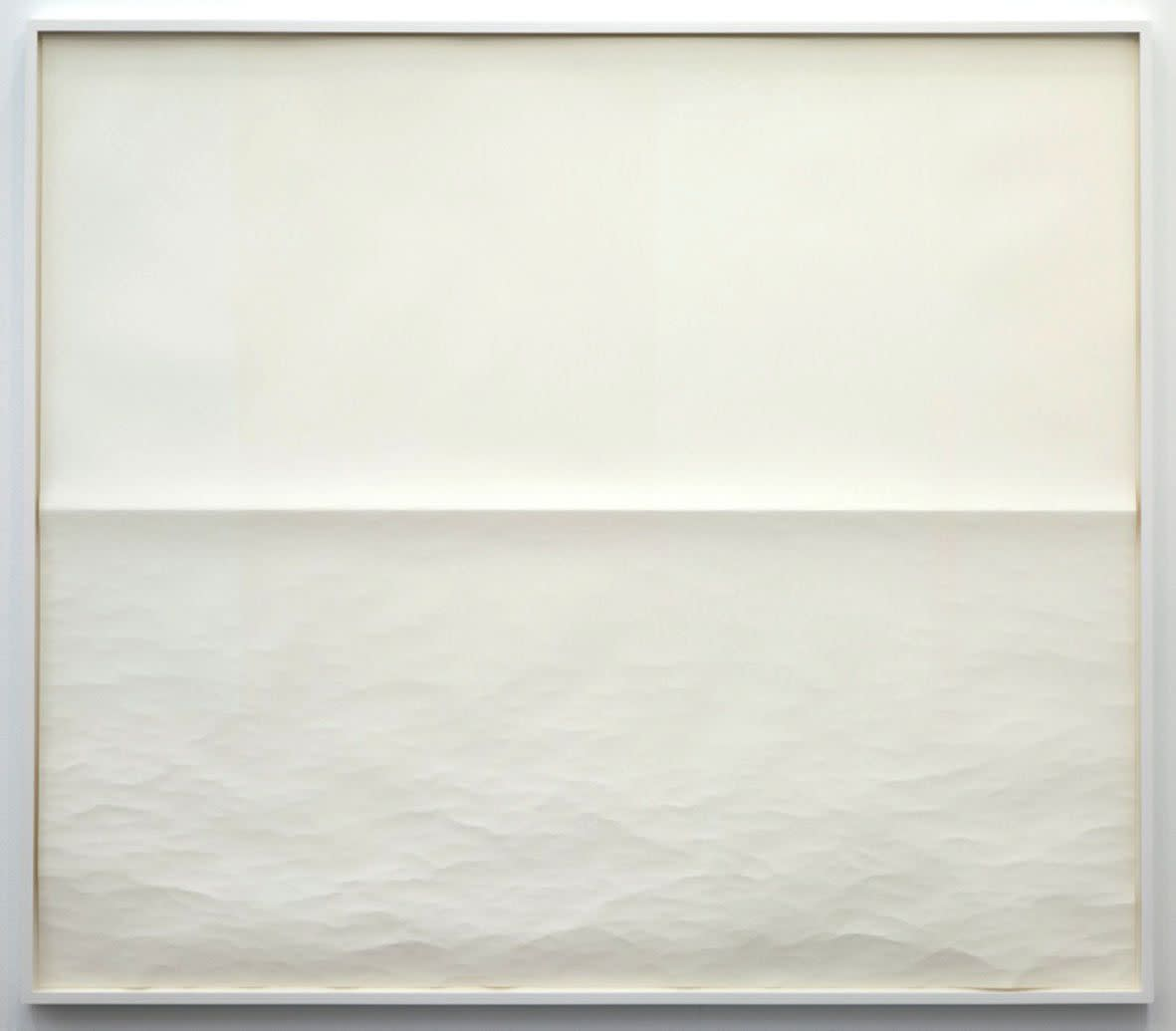 "<span class=""link fancybox-details-link""><a href=""/exhibitions/133/works/artworks9417/"">View Detail Page</a></span><div class=""artist""><strong>Tom Friedman</strong></div><div class=""title""><em>Untitled (Seascape 2)</em>, 2012</div><div class=""medium"">paper</div><div class=""dimensions"">Framed: 135,6 x 156,2 cm</div>"