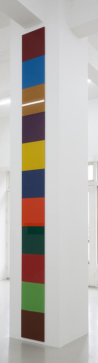 "<span class=""link fancybox-details-link""><a href=""/exhibitions/150/works/artworks12524/"">View Detail Page</a></span><div class=""artist""><strong>ÞÓR VIGFÚSSON</strong></div><div class=""title"">Untitled, 2016</div><div class=""medium"">enameled glass</div><div class=""dimensions"">412.5 x 37.5 cm<br>14 3/4 x 162 3/8 x 14 3/4 in</div>"