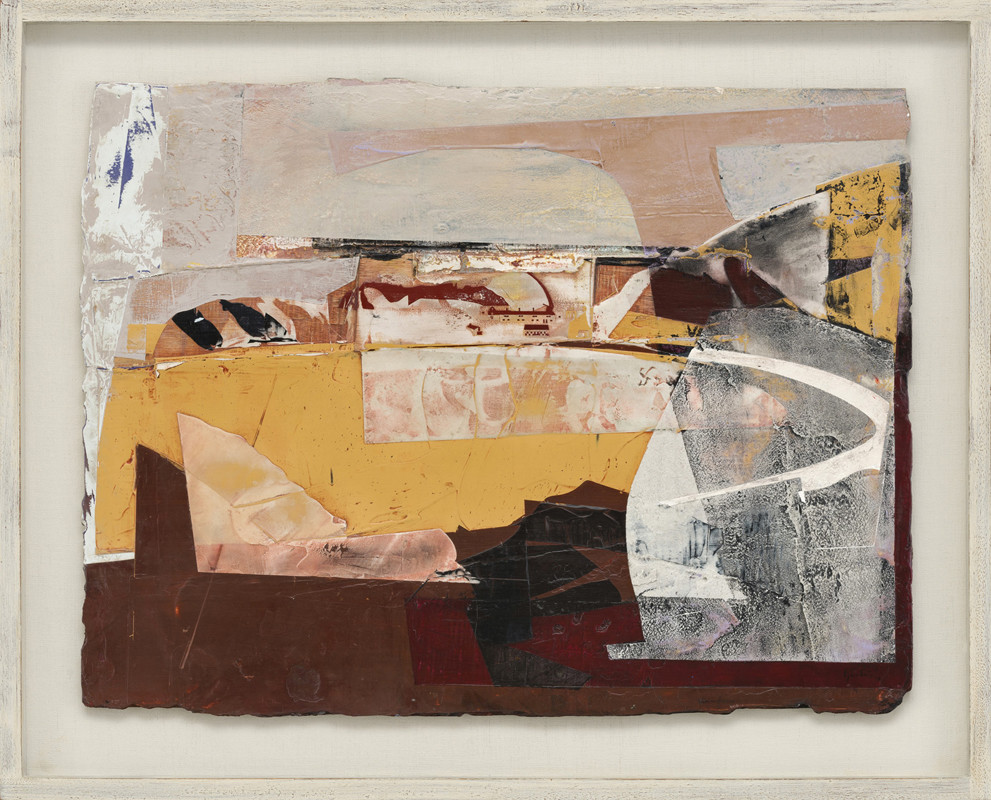 <span class=&#34;link fancybox-details-link&#34;><a href=&#34;/exhibitions/21/works/artworks940/&#34;>View Detail Page</a></span><div class=&#34;signed_and_dated&#34;>signed and dated 2018<br /> titled verso</div> <div class=&#34;medium&#34;>acrylic and jesmonite on poplar panel</div> <div class=&#34;dimensions&#34;>50 x 65 cms (19.5 x 25.5 ins)<br /> framed: 62 x 78 cms (24.5 x 30.5 ins)</div>
