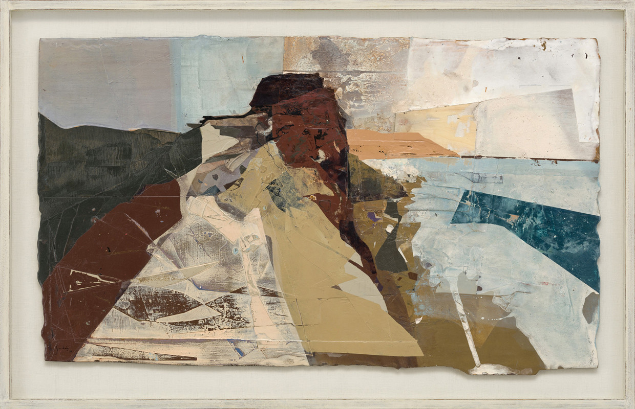 <span class=&#34;link fancybox-details-link&#34;><a href=&#34;/exhibitions/21/works/artworks946/&#34;>View Detail Page</a></span><div class=&#34;signed_and_dated&#34;>signed and dated 2018<br /> titled verso</div> <div class=&#34;medium&#34;>acrylic and jesmonite on poplar panel</div> <div class=&#34;dimensions&#34;>60 x 100 cms (23.5 x 39.5 ins)<br /> framed: 72 x 113 cms (28.5 x 44.5 ins)</div>