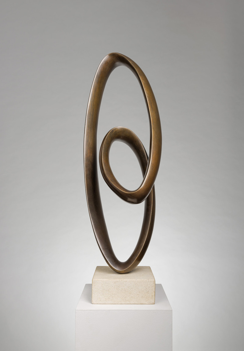 <span class=&#34;link fancybox-details-link&#34;><a href=&#34;/exhibitions/6/works/artworks583/&#34;>View Detail Page</a></span><div class=&#34;artist&#34;><strong>Richard Fox</strong></div> Born 1965<div class=&#34;title&#34;><em>Bronze Ravel VIII</em></div><div class=&#34;signed_and_dated&#34;>signed and titled on underside of bronze<br>number 1 from an edition of 9<br>cast in 2018     </div><div class=&#34;medium&#34;>bronze on sandstone base</div><div class=&#34;dimensions&#34;>86.5 cms (H)  34 ins</div>