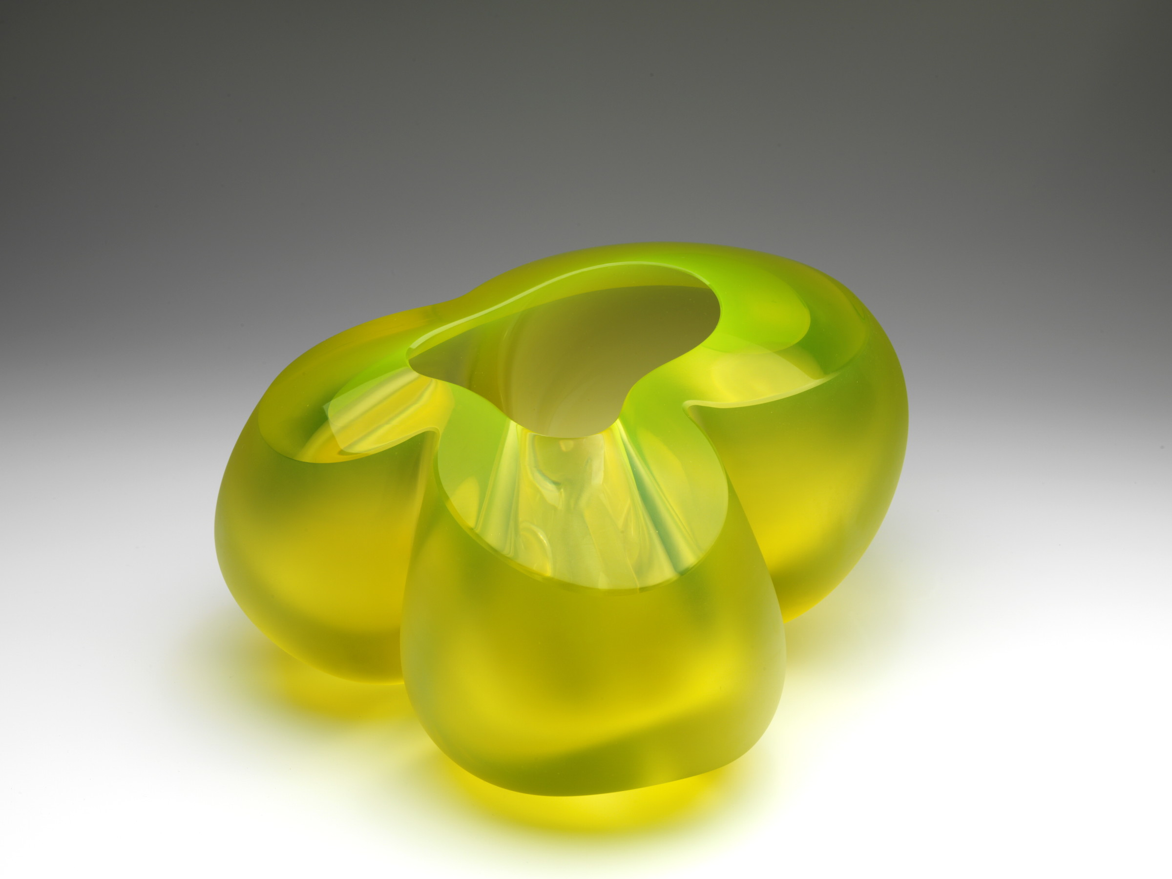 "<span class=""link fancybox-details-link""><a href=""/exhibitions/23/works/artworks5492/"">View Detail Page</a></span><div class=""medium"">Uranium glass, blowing, hand-formed, sandblasting</div> <div class=""dimensions"">28 x 26 x 15 cm</div>"