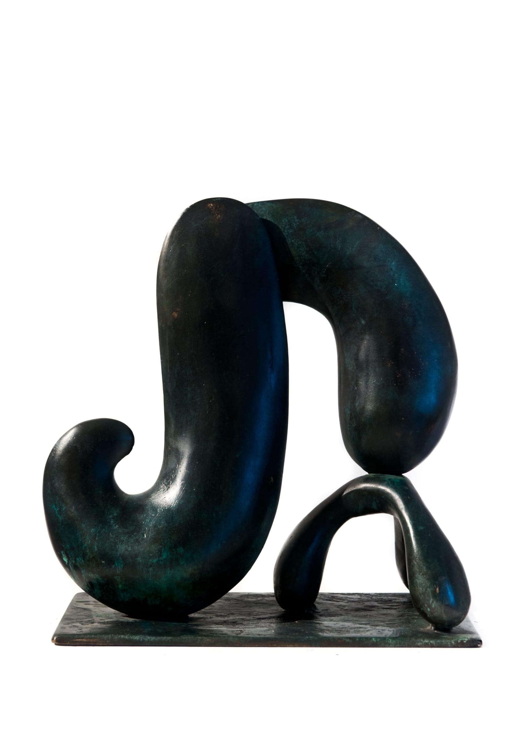 <span class=&#34;link fancybox-details-link&#34;><a href=&#34;/exhibitions/59/works/artworks4982/&#34;>View Detail Page</a></span><div class=&#34;signed_and_dated&#34;>Signed and dated on base</div> <div class=&#34;medium&#34;>Cast Patinated Bronze</div> <div class=&#34;dimensions&#34;>14.6 x 13.4 x 6.3 in<br />37 x 34 x 16 cm</div> <div class=&#34;edition_details&#34;>#1/2</div>