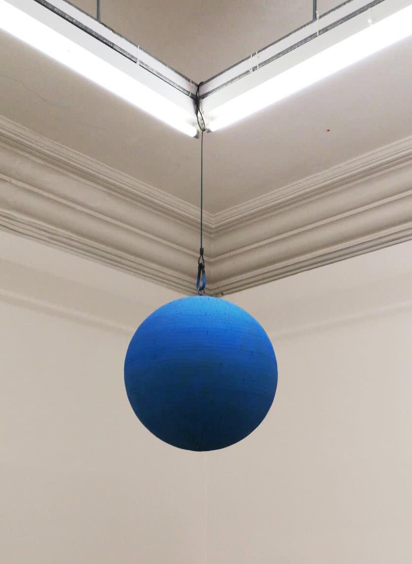 <span class=&#34;link fancybox-details-link&#34;><a href=&#34;/exhibitions/223/works/artworks10848/&#34;>View Detail Page</a></span><div class=&#34;medium&#34;>Disco Ball, Paint</div> <div class=&#34;dimensions&#34;>Dimensions variable</div>