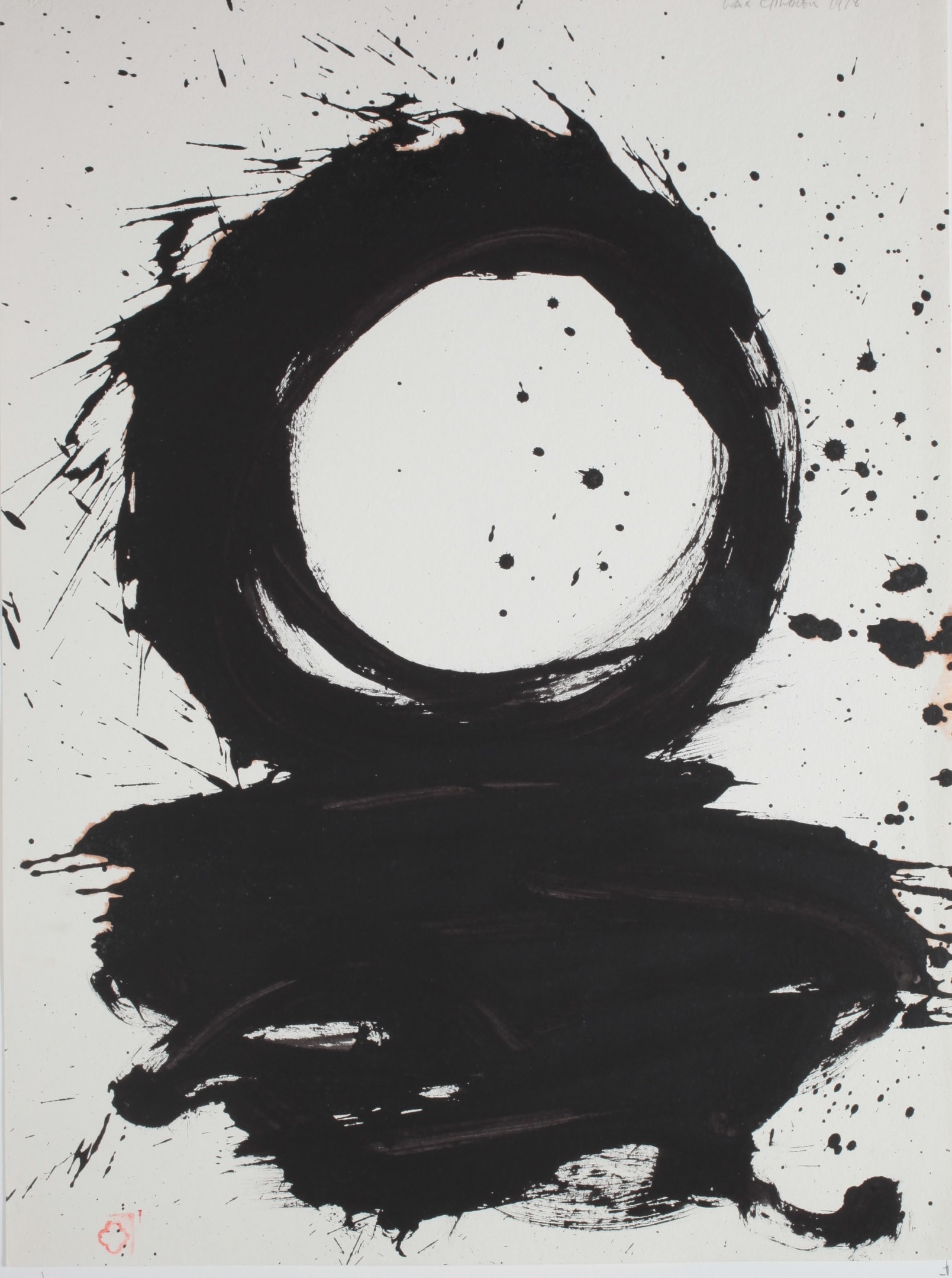 <span class=&#34;link fancybox-details-link&#34;><a href=&#34;/exhibitions/29/works/artworks6499/&#34;>View Detail Page</a></span><div class=&#34;medium&#34;>Sumi ink on hand made paper</div> <div class=&#34;dimensions&#34;>30 x 25 in<br />76.2 x 63.5 cm</div>