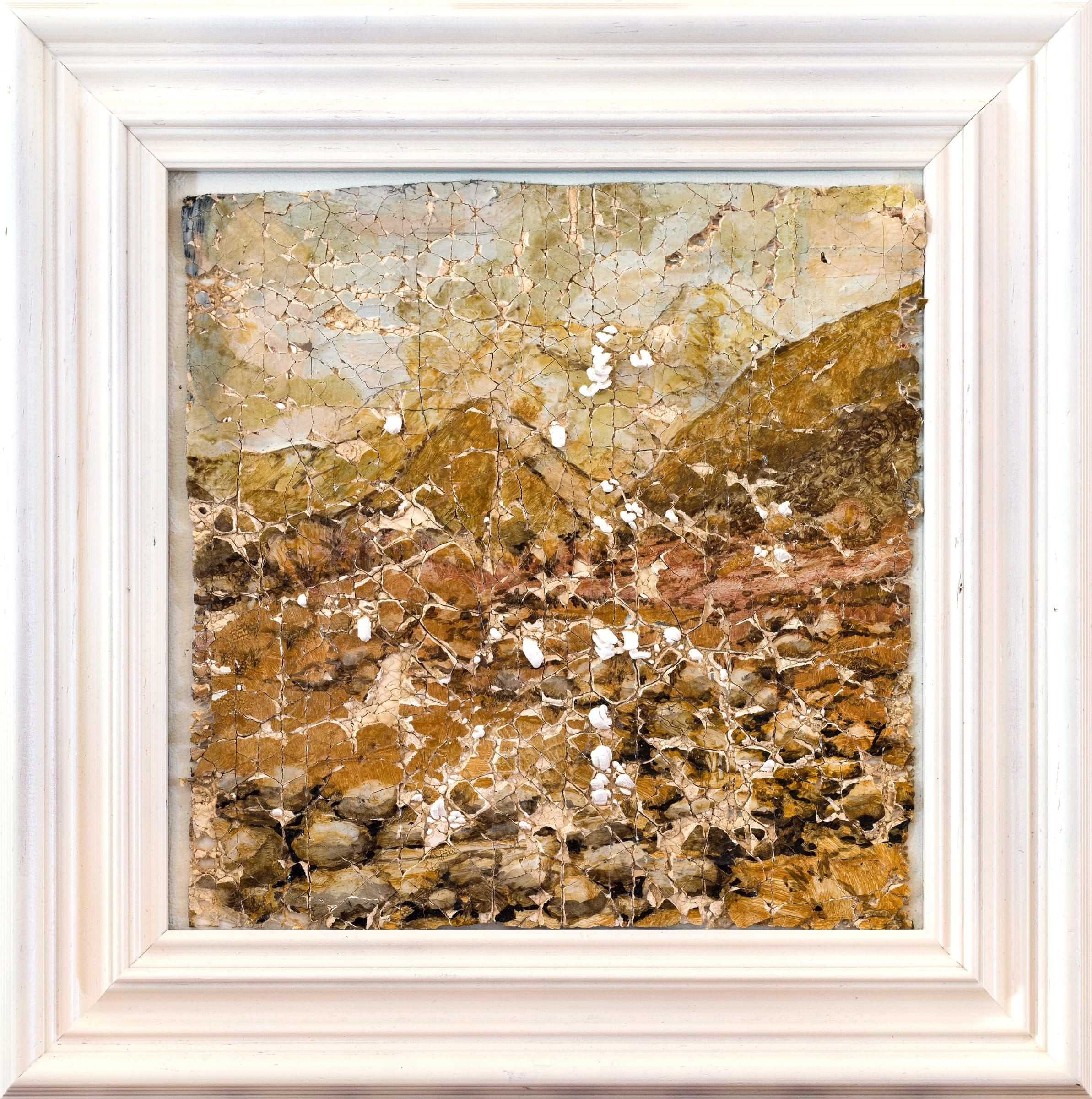 <span class=&#34;link fancybox-details-link&#34;><a href=&#34;/exhibitions/21/works/artworks7069/&#34;>View Detail Page</a></span><div class=&#34;medium&#34;>Oil on prepared plaster</div> <div class=&#34;dimensions&#34;>16.3 x 16.3 in<br />41.5 x 41.5 cm</div>
