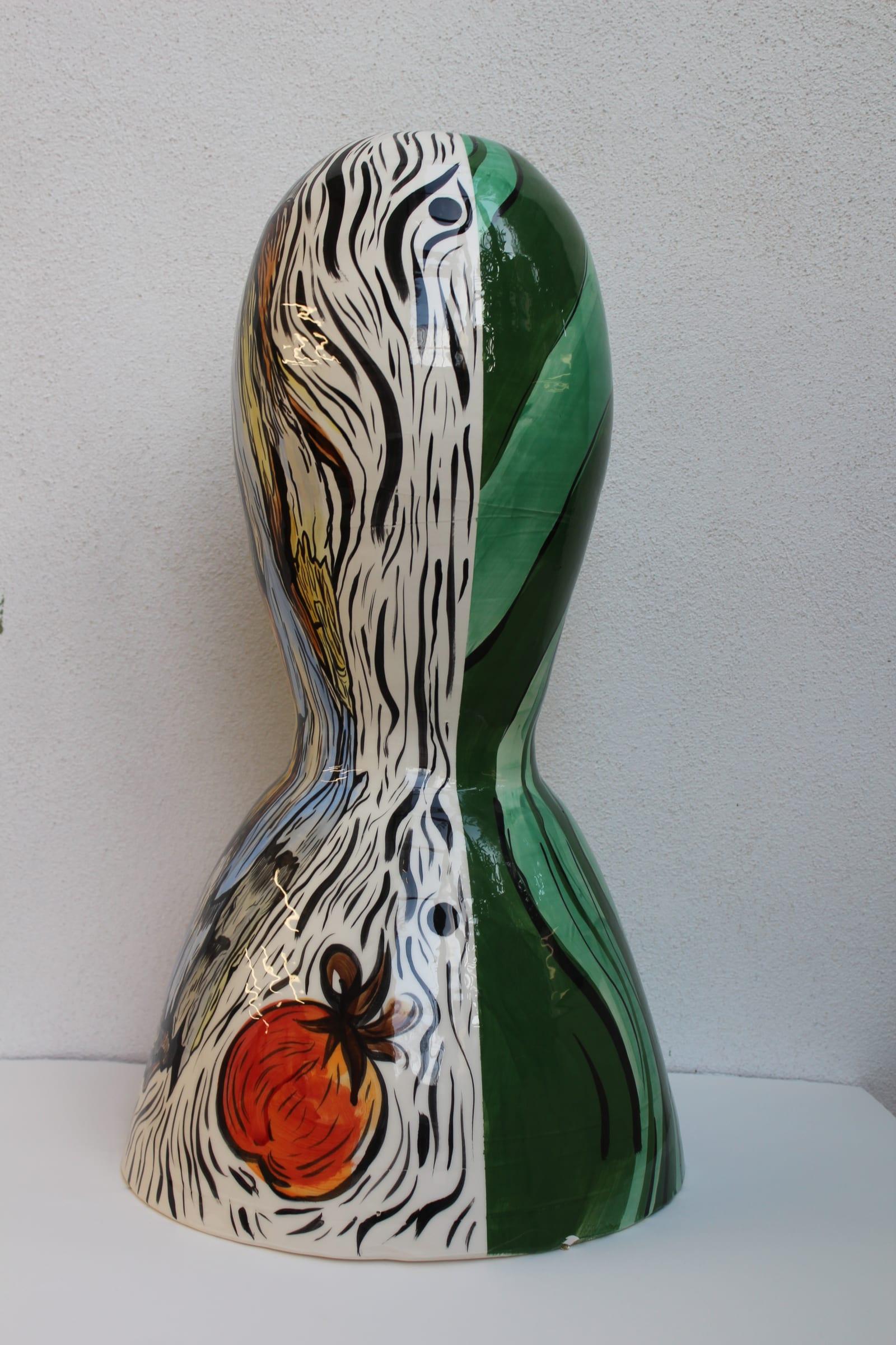"<span class=""link fancybox-details-link""><a href=""/artists/51-florentine-%26-alexandre-lamarche-ovize/works/11925/"">View Detail Page</a></span><div class=""artist""><strong>Florentine & Alexandre LAMARCHE-OVIZE</strong></div> <div class=""title""><em>Ceramic doll (after Girard) #4</em>, 2020</div> <div class=""medium"">glazed ceramic</div> <div class=""dimensions"">70 x 30 x 30 cm<br /> 27 1/2 x 11 3/4 x 11 3/4 in</div><div class=""copyright_line"">Copyright The Artist</div>"