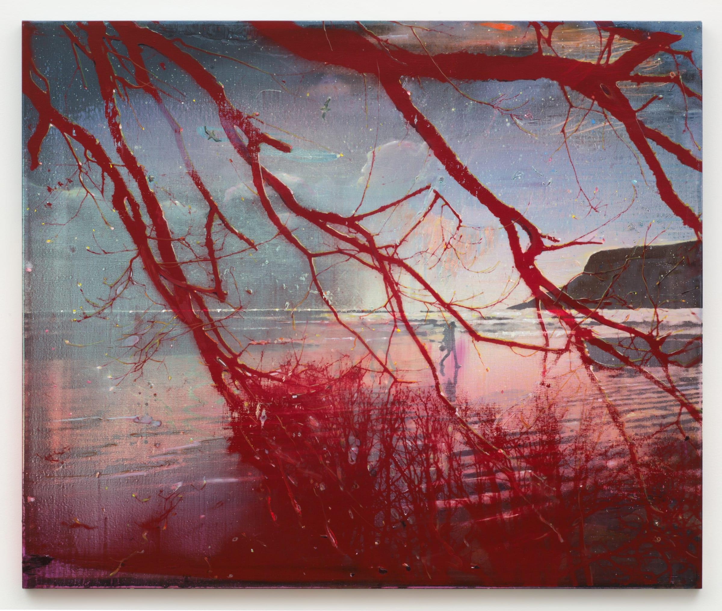 Elizabeth Magill, Red Bay, 2016 - 2017 | Anthony Wilkinson Gallery
