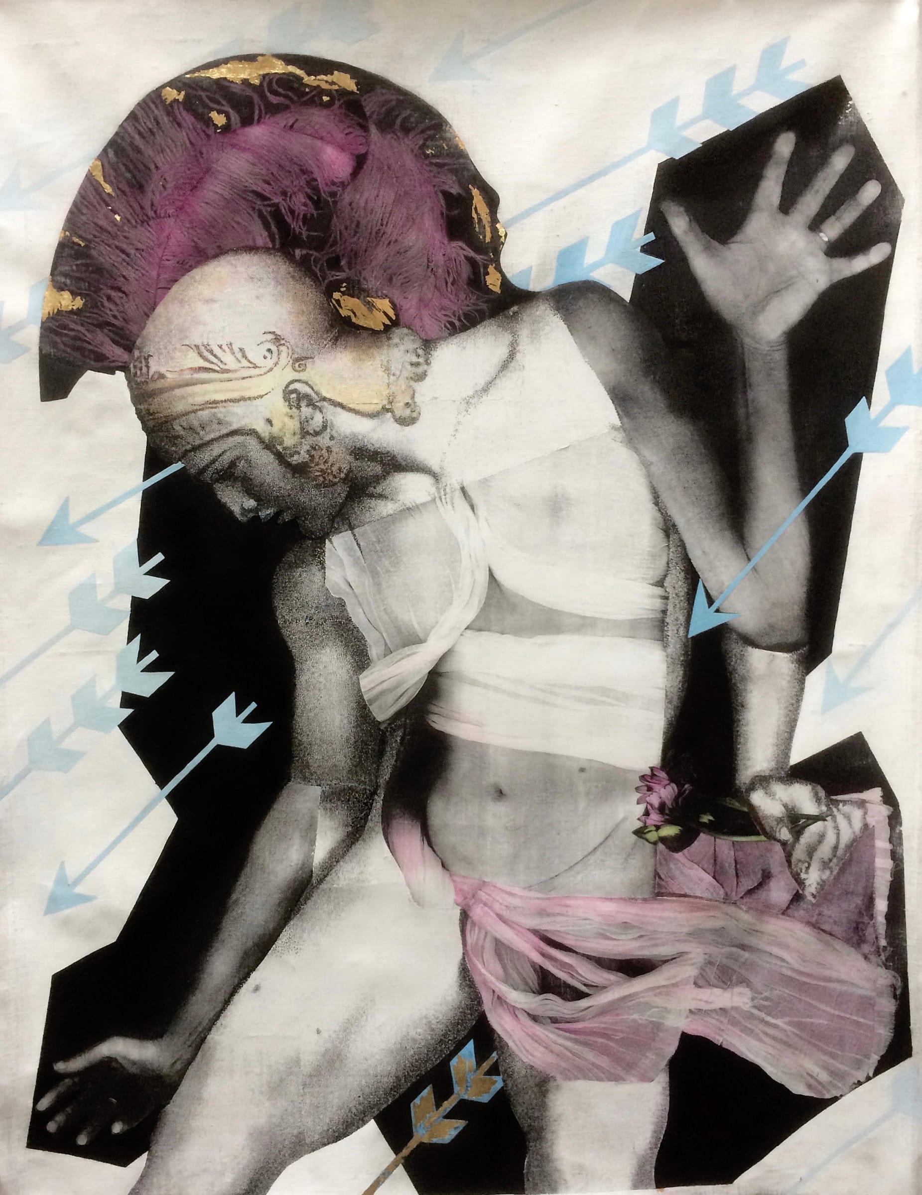 Denise Zygadlo, React, 2018 | Arusha Gallery
