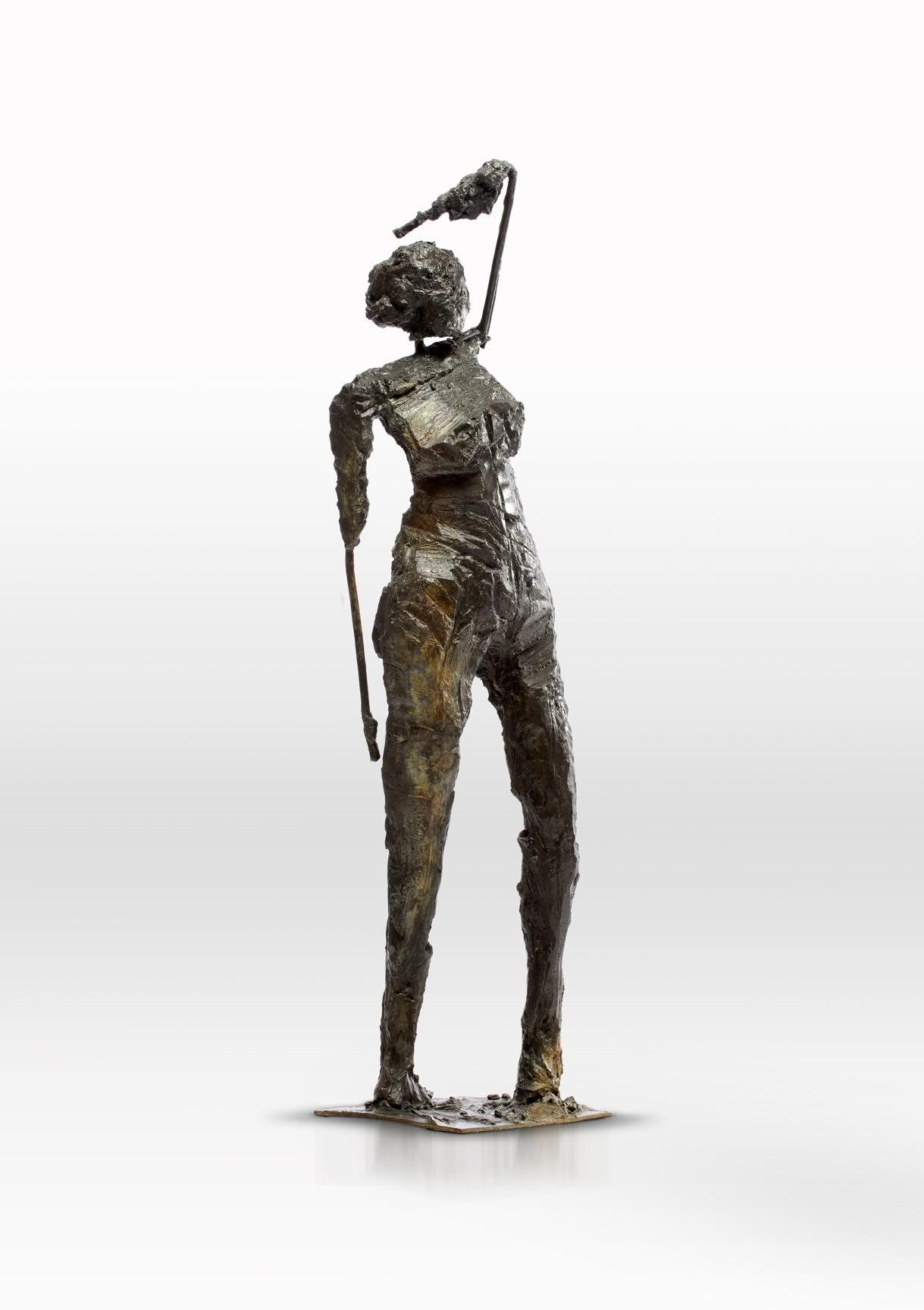"<span class=""link fancybox-details-link""><a href=""/artworks/1671-emilio-diiorio-reaction-2014/"">View Detail Page</a></span><div class=""artist""><strong>Emilio DiIorio</strong></div> <div class=""title""><em>Reaction</em>, 2014</div> <div class=""medium"">bronze</div> <div class=""dimensions"">52"" x 10"" x 8""</div><div class=""copyright_line"">Copyright The Artist</div>"