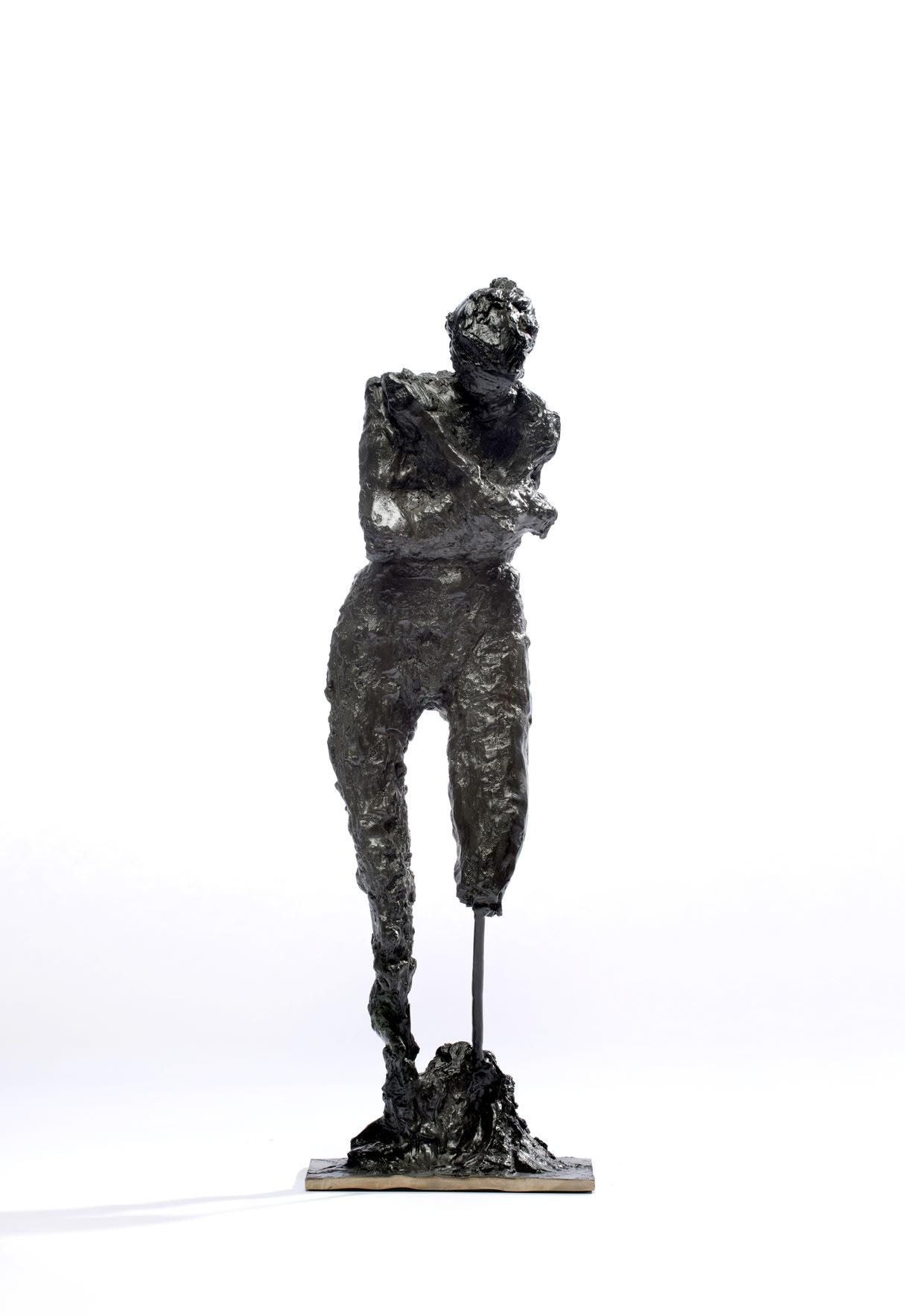 "<span class=""link fancybox-details-link""><a href=""/artworks/1685-emilio-diiorio-courage-2014/"">View Detail Page</a></span><div class=""artist""><strong>Emilio DiIorio</strong></div> <div class=""title""><em>Courage</em>, 2014</div> <div class=""medium"">bronze</div> <div class=""dimensions"">27"" x 6 1/2"" x 6""</div><div class=""copyright_line"">Copyright The Artist</div>"