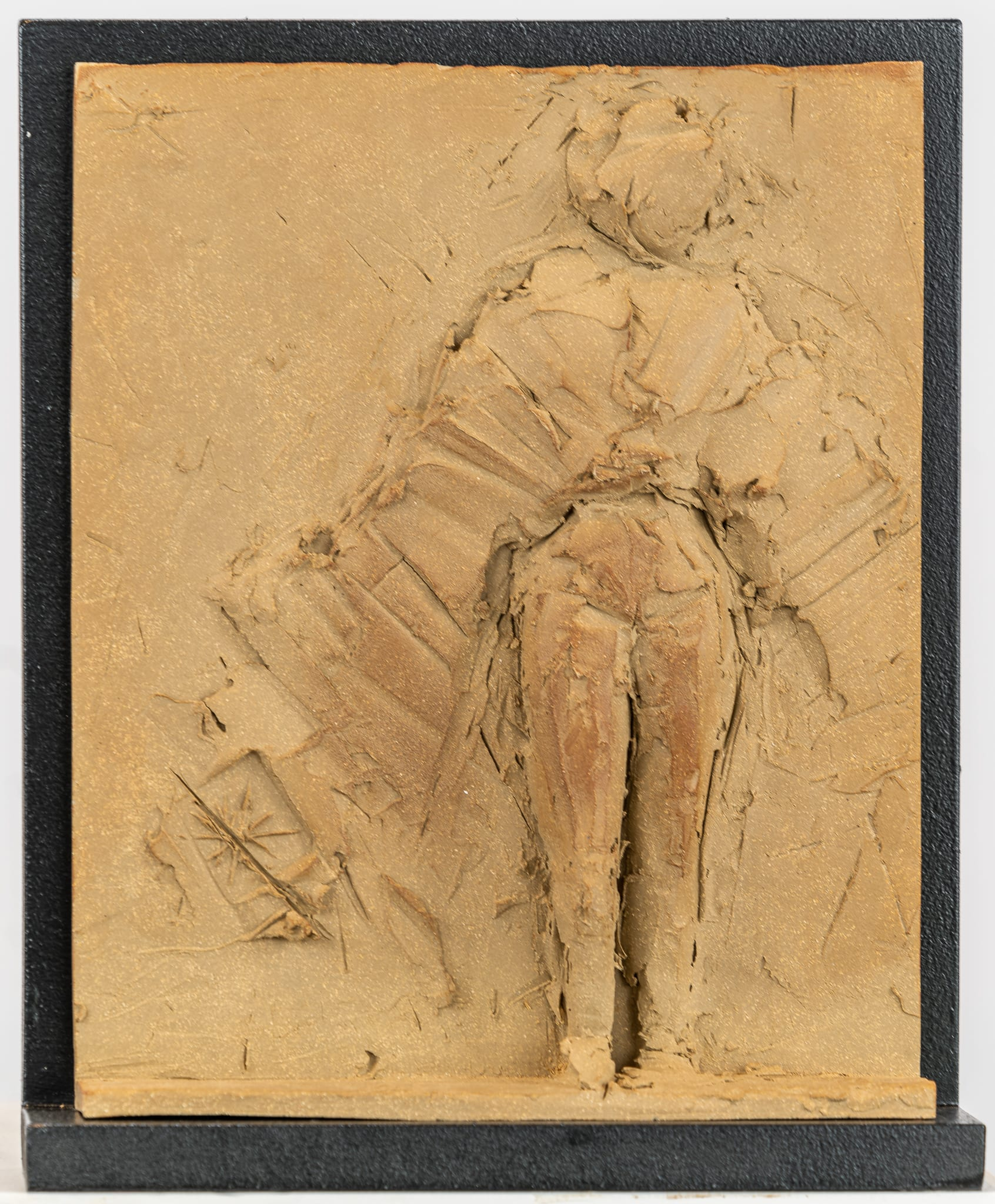 """<span class=""""link fancybox-details-link""""><a href=""""/artworks/categories/6/2381-emilio-diiorio-untitled-5-of-9-in-greek-muses-series-2020/"""">View Detail Page</a></span><div class=""""artist""""><strong>Emilio DiIorio</strong></div> <div class=""""title""""><em>Untitled (5 of 9 in Greek Muses series in brown clay)</em>, 2020</div> <div class=""""medium"""">Ceramic</div> <div class=""""dimensions"""">12 1/4 x 10 x 2 1/4 in<br /> 31.1 x 25.4 x 5.7 cm</div>"""
