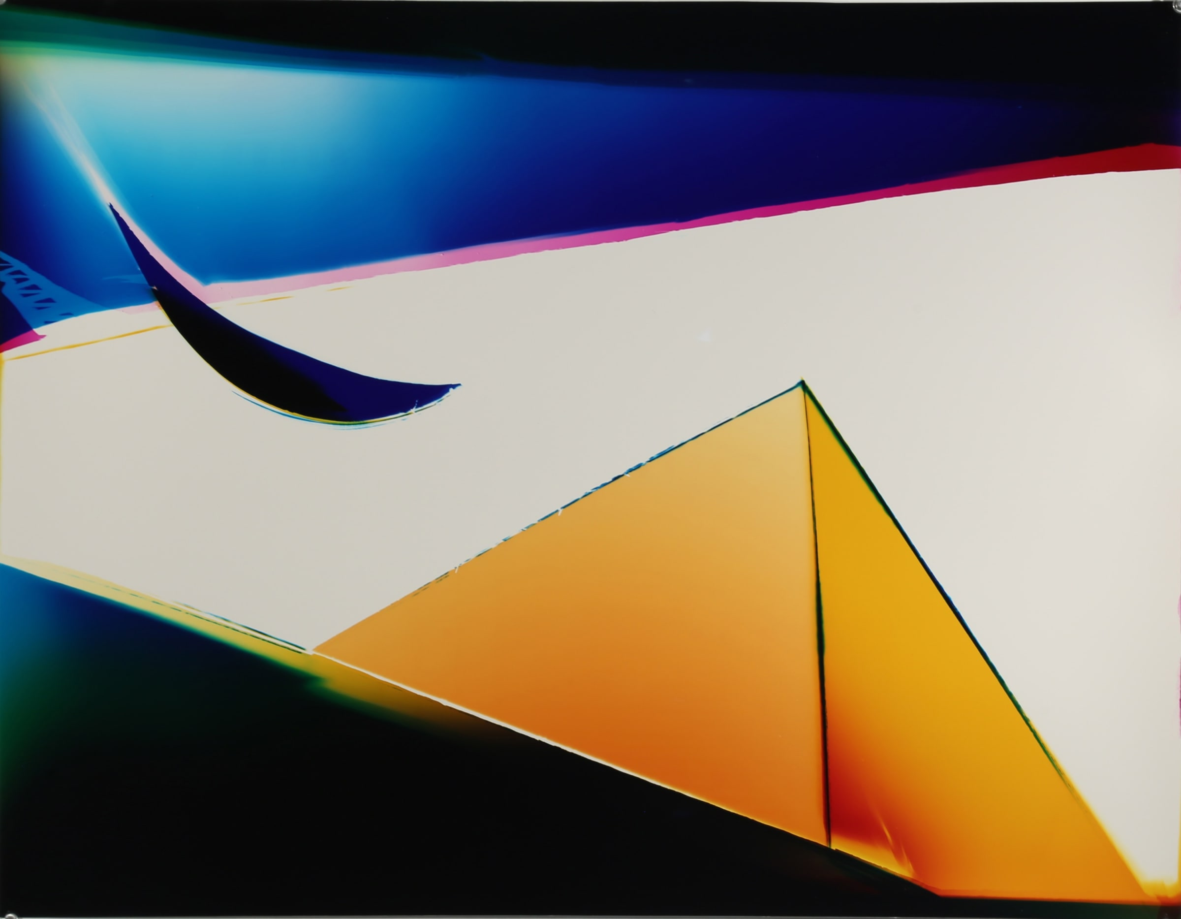 "<span class=""link fancybox-details-link""><a href=""/exhibitions/11/works/artworks122/"">View Detail Page</a></span><div class=""artist""><strong>Liz Nielsen</strong></div><div class=""title""><em>Golden Vortex</em>, 2018</div><div class=""signed_and_dated"">Signed, titled and dated on artist's label</div><div class=""medium"">Analogue Chromogenic Photogram on Fujiflex, Unique</div><div class=""dimensions"">75.9 x 58.8 cm<br>29 7/8 x 23 1/8 in</div>"