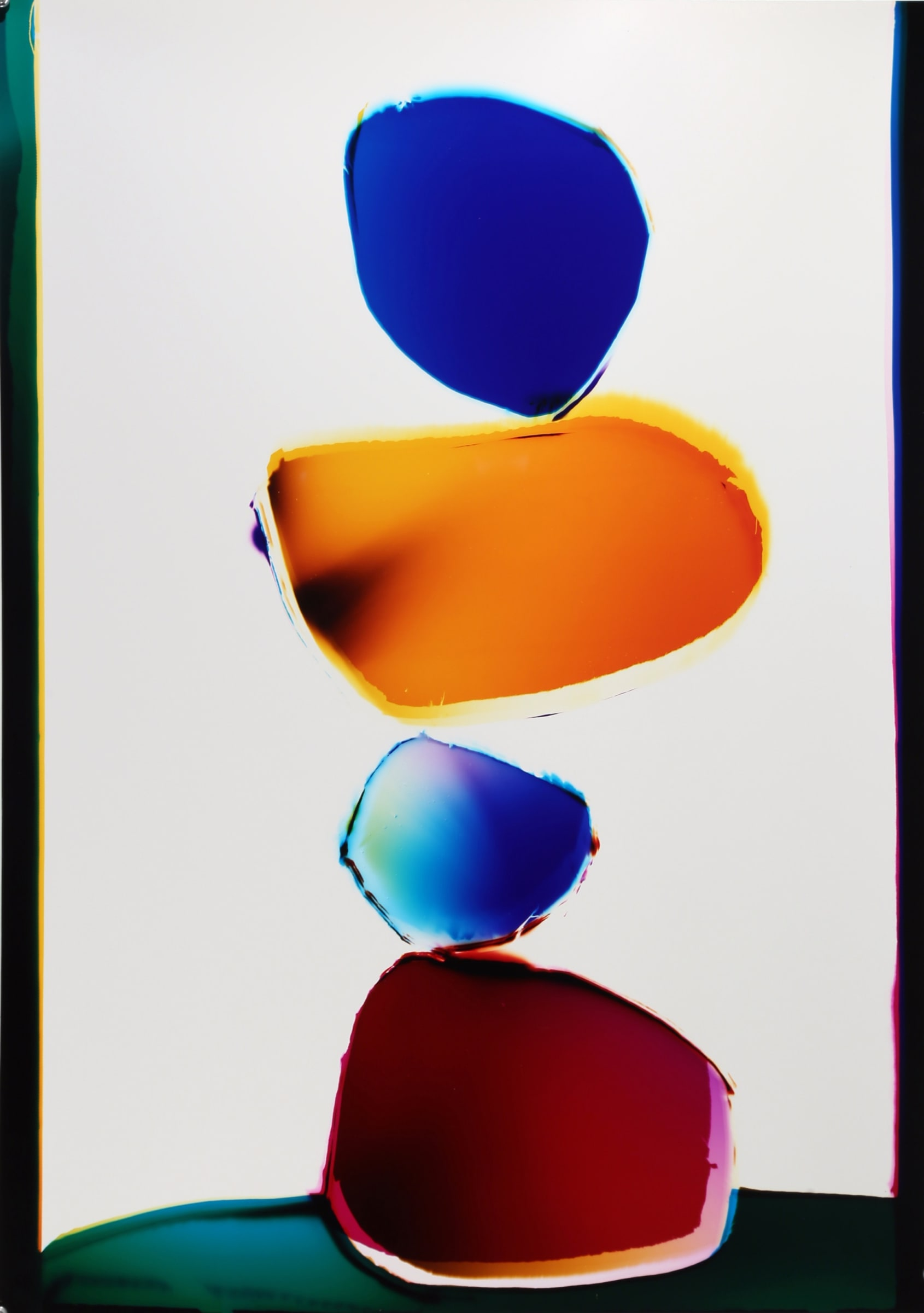"<span class=""link fancybox-details-link""><a href=""/exhibitions/11/works/artworks126/"">View Detail Page</a></span><div class=""artist""><strong>Liz Nielsen</strong></div><div class=""title""><em>Mirror Stones</em>, 2018</div><div class=""signed_and_dated"">Signed, titled and dated on artist's label</div><div class=""medium"">Analogue Chromogenic Photogram on Fujiflex, Unique</div><div class=""dimensions"">75.9 x 52.9 cm<br>29 7/8 x 20 7/8 in</div>"