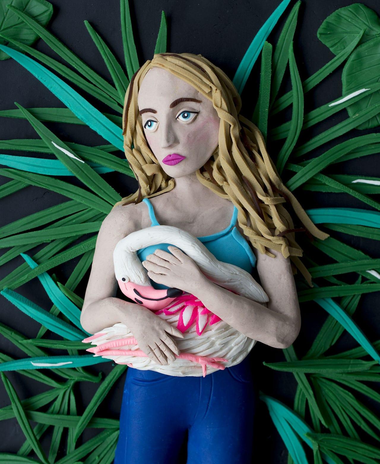 "<span class=""link fancybox-details-link""><a href=""/artists/49-eleanor-macnair/works/975-eleanor-macnair-original-photograph-frank-flamingo-from-the-series-amelia/"">View Detail Page</a></span><div class=""artist""><strong>Eleanor Macnair</strong></div> <div class=""title""><em>Original photograph: Frank Flamingo from the series 'Amelia and the Animals' by Robin Schwartz</em></div> <div class=""medium"">Archival Pigment Print</div> <div class=""edition_details"">Edition of 5</div>"