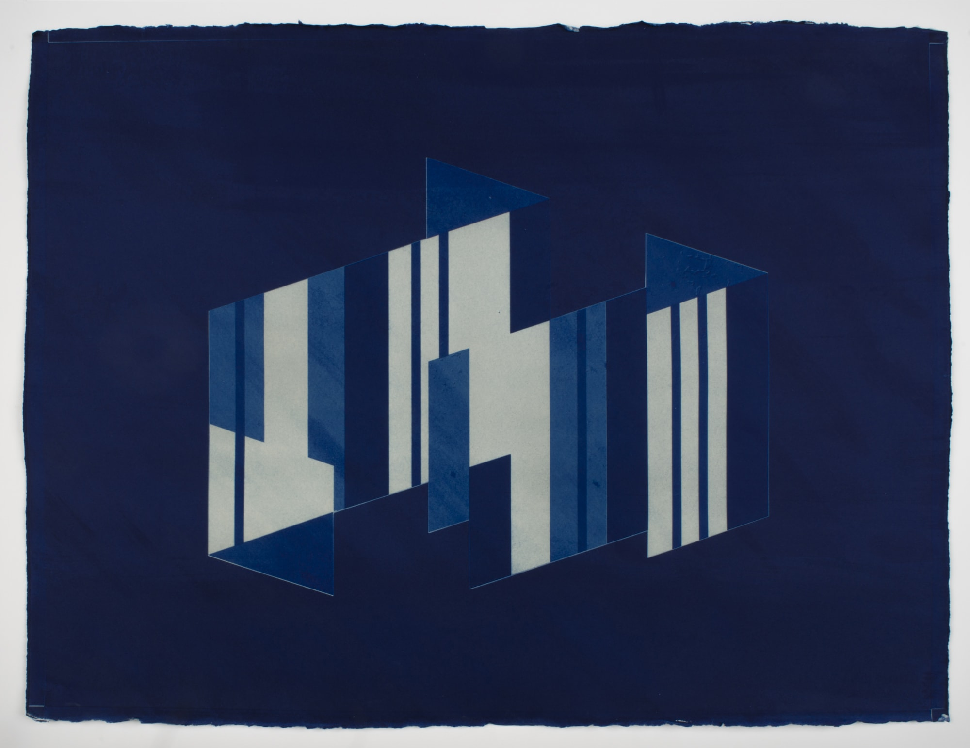 "<span class=""link fancybox-details-link""><a href=""/content/feature/165/artworks688/"">View Detail Page</a></span><div class=""medium"">Cyanotype on cotton rag paper<br /> Framed<br /> Unique</div> <div class=""dimensions"">76.2 x 61 cm<br /> 30 x 24 in</div>"