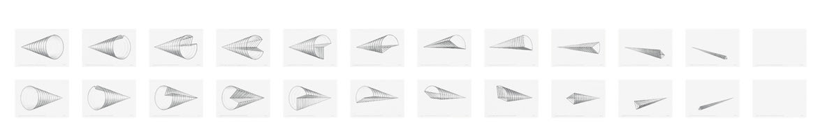 """<span class=""""link fancybox-details-link""""><a href=""""/exhibitions/109/works/artworks4776/"""">View Detail Page</a></span><div class=""""artist""""><strong> Anthony Mccall</strong></div><div class=""""title""""><em>Study for """"Leaving"""" (360º rotation, seen from the left and from the right)</em>, 2006</div><div class=""""signed_and_dated"""">titled, signed and dated, recto</div><div class=""""medium"""">suite of 12 pencil drawings on paper</div><div class=""""dimensions"""">paper: 12 1/2 x 17 inches (31.8 x 43.2 cm) each<br>framed: 14 1/8 x 18 1/8 inches (35.9 x 46 cm) each</div>"""