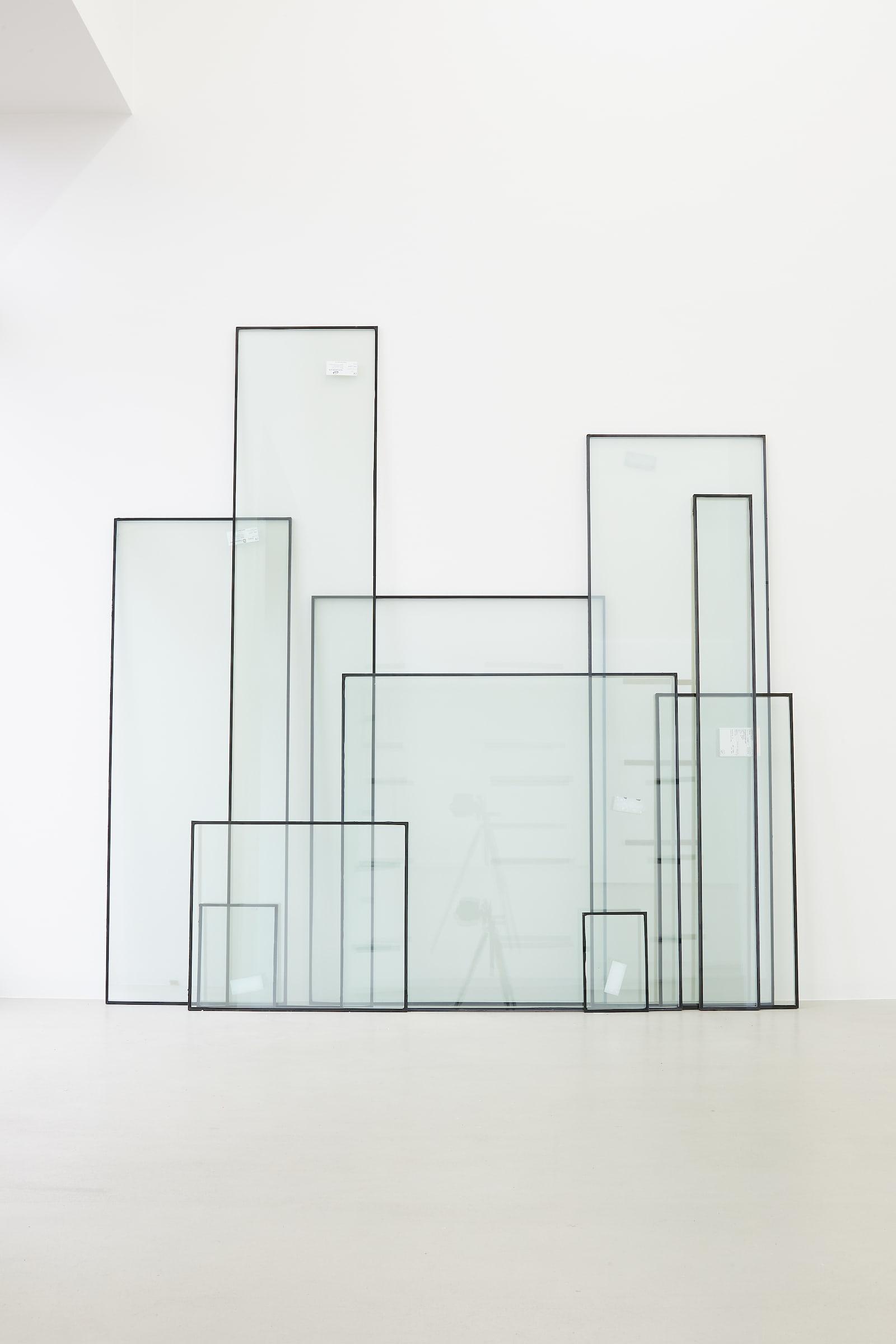 "<span class=""link fancybox-details-link""><a href=""/exhibitions/174/works/artworks16703/"">View Detail Page</a></span>KRISTJÁN GUÐMUNDSSON  Forgotten View, 2001-2020  double glazed glass  size variable"