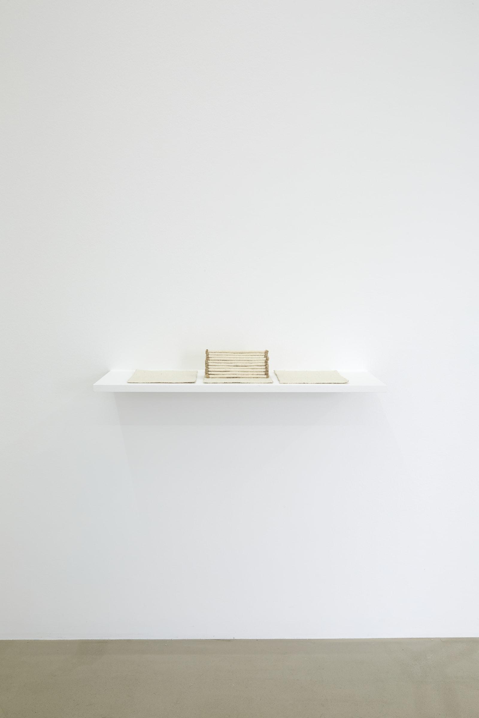 """<span class=""""link fancybox-details-link""""><a href=""""/exhibitions/185/works/artworks17770/"""">View Detail Page</a></span><div class=""""artist""""><strong>RAGNA RÓBERTSDÓTTIR</strong></div><div class=""""title""""><em>Untitled</em>, 1981/2021</div><div class=""""medium"""">linen</div><div class=""""dimensions"""">21 x 26 x 12 cm<br>8 1/4 x 10 1/4 x 4 3/4 in</div><div class=""""edition_details"""">unique</div>"""