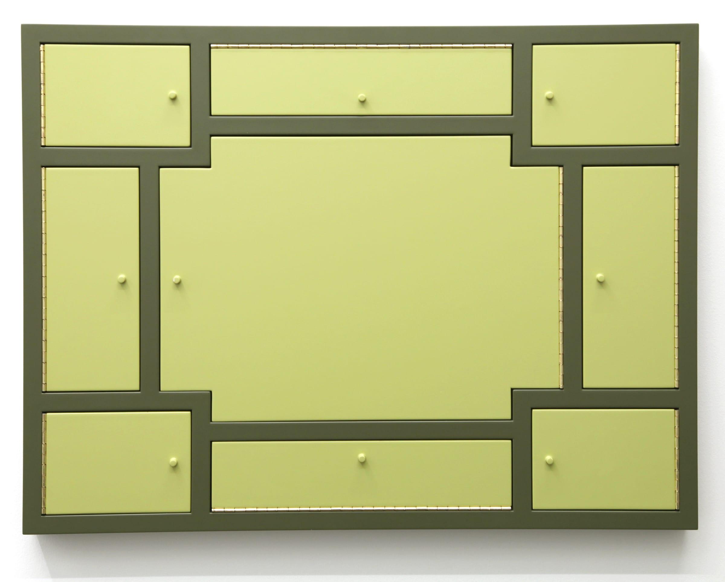 "<span class=""link fancybox-details-link""><a href=""/artists/129-birgir-andresson/works/6194/"">View Detail Page</a></span><div class=""artist""><strong>BIRGIR ANDRÉSSON</strong></div> <div class=""title""><em>Cabinet No. 17</em>, 2000</div> <div class=""medium"">MDF, varnish</div> <div class=""dimensions"">60 x 80 x 6 cm<br /> 23 5/8 x 31 1/2 x 2 3/8 in</div>"