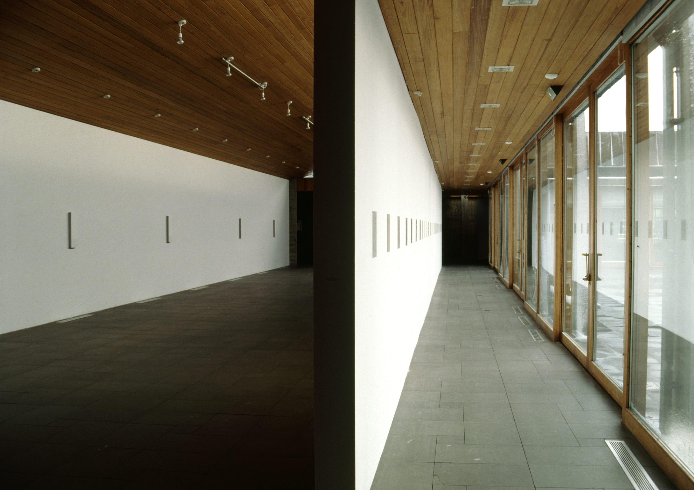 """<span class=""""link fancybox-details-link""""><a href=""""/artists/130-ingolfur-arnarsson/works/15495/"""">View Detail Page</a></span><div class=""""artist""""><strong>INGÓLFUR ARNARSSON</strong></div> 1996 <div class=""""medium"""">exhibition view at Listasafn Reykjavikur - Kjarvalsstaðir</div><div class=""""copyright_line"""">Copyright The Artist</div>"""