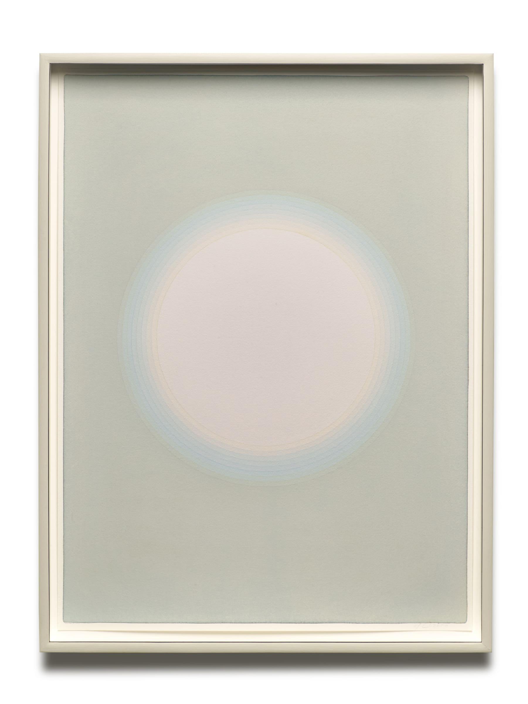 "<span class=""link fancybox-details-link""><a href=""/exhibitions/176/works/artworks16831/"">View Detail Page</a></span>ÓLAFUR ELÍASSON  Solar short-term memory (11 seconds), 2020  watercolour, pencil on paper  71,6 x 53,9 x 6 cm"