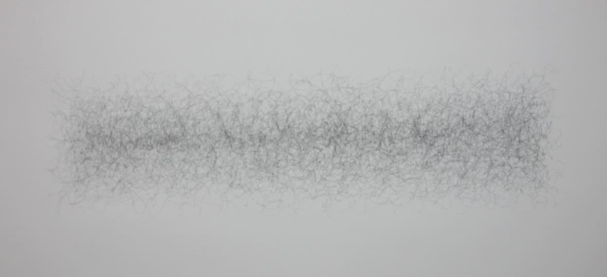 "<span class=""link fancybox-details-link""><a href=""/exhibitions/117/works/artworks7082/"">View Detail Page</a></span><div class=""artist""><strong>FINNBOGI PÉTURSSON</strong></div><div class=""title""><em>Motordrawing / Mótorteikning (684 circles per minute)</em>, 2011</div><div class=""signed_and_dated"">certificate</div><div class=""medium"">pencil on wall</div><div class=""dimensions"">28.0 x 98.0 cm<br>11 x 38 5/8 in</div>"