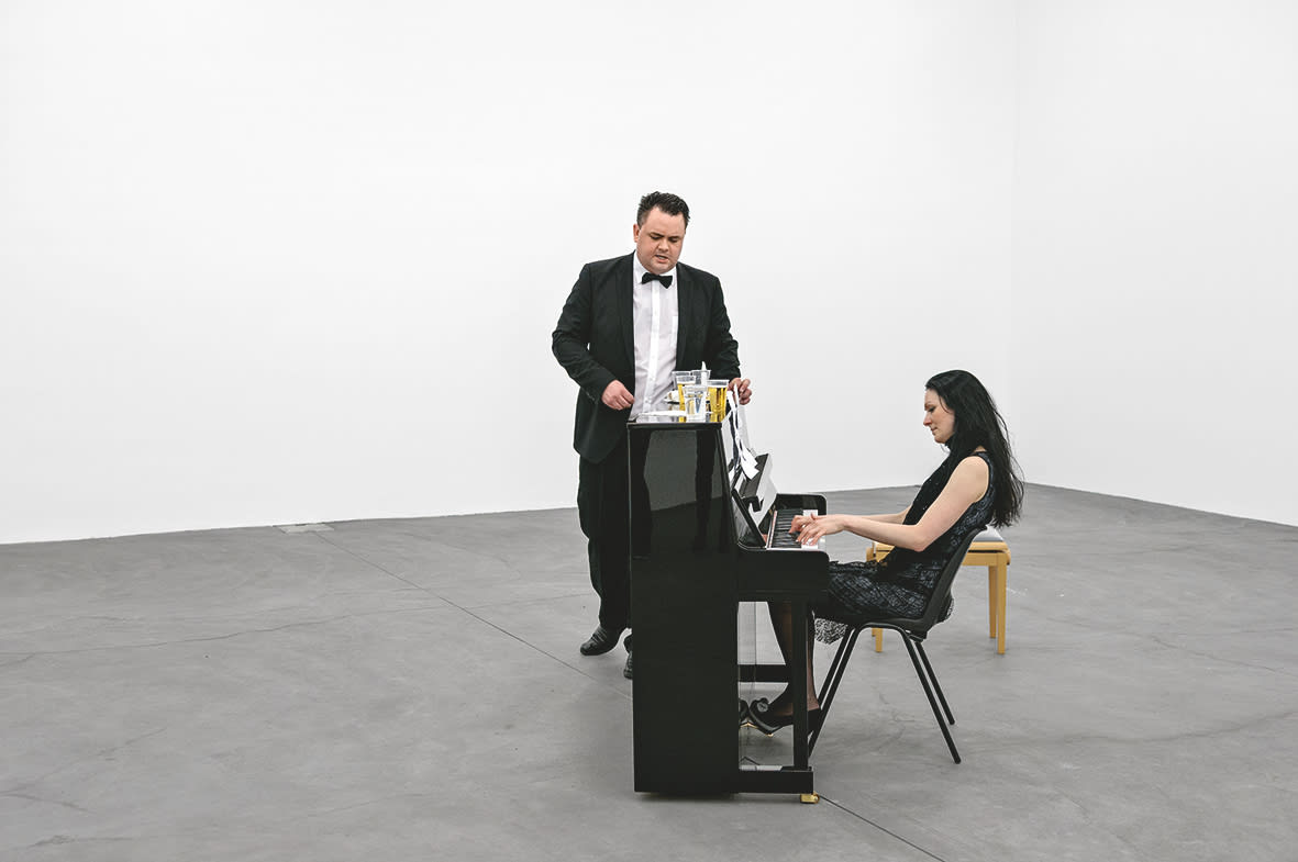 "<span class=""link fancybox-details-link""><a href=""/artists/35-ragnar-kjartansson/works/11187/"">View Detail Page</a></span><div class=""artist""><strong>RAGNAR KJARTANSSON</strong></div> <div class=""title""><em>An die Musik</em>, 2012</div> <div class=""medium"">Performance</div> <div class=""dimensions"">Duration variable</div>"