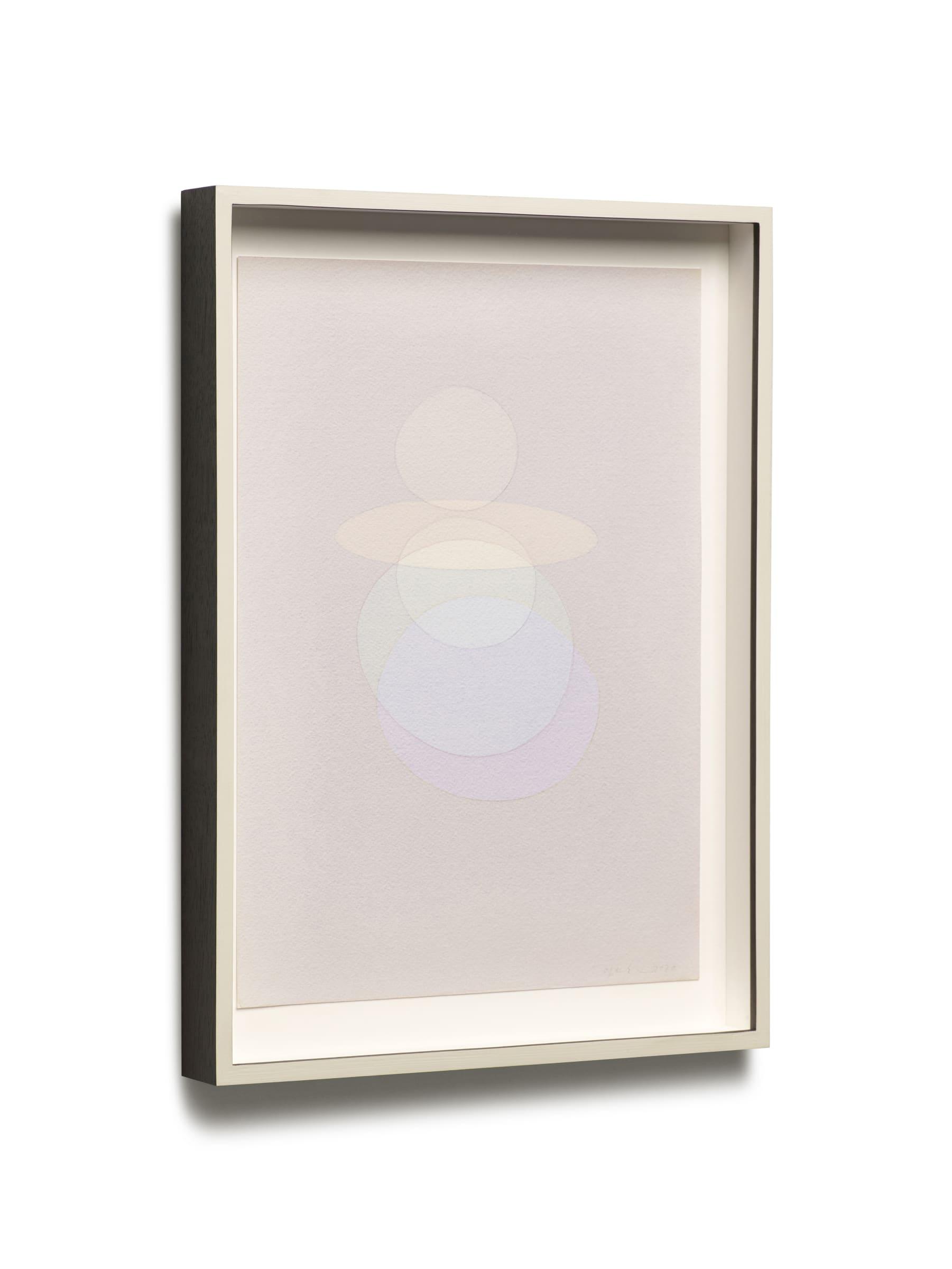 "<span class=""link fancybox-details-link""><a href=""/exhibitions/176/works/artworks16827/"">View Detail Page</a></span><div class=""artist""><strong>ÓLAFUR ELÍASSON</strong></div><div class=""title""><em>Circular hand dance voids (clarity)</em>, 2020</div><div class=""medium"">watercolour, pencil on paper</div><div class=""dimensions"">39,8 x 28,8 x 4 cm</div>"