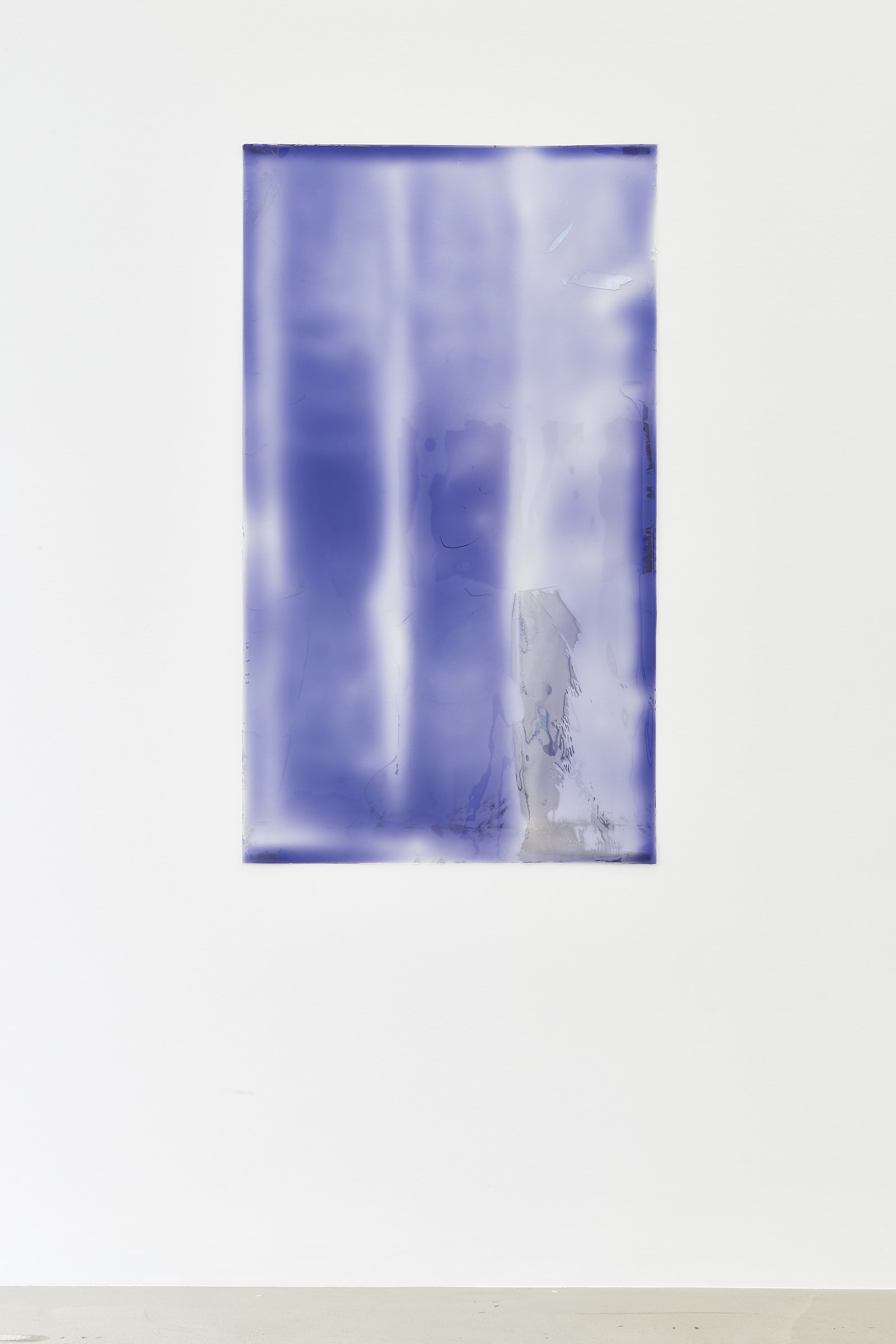 """<span class=""""link fancybox-details-link""""><a href=""""/exhibitions/186/works/artworks17846/"""">View Detail Page</a></span>Carrie Yamaoka  Peeled, 2001/2021  urethane resin, reflective polyester film, mixed media  133 x 76 cm 52 3/8 x 29 7/8 in"""