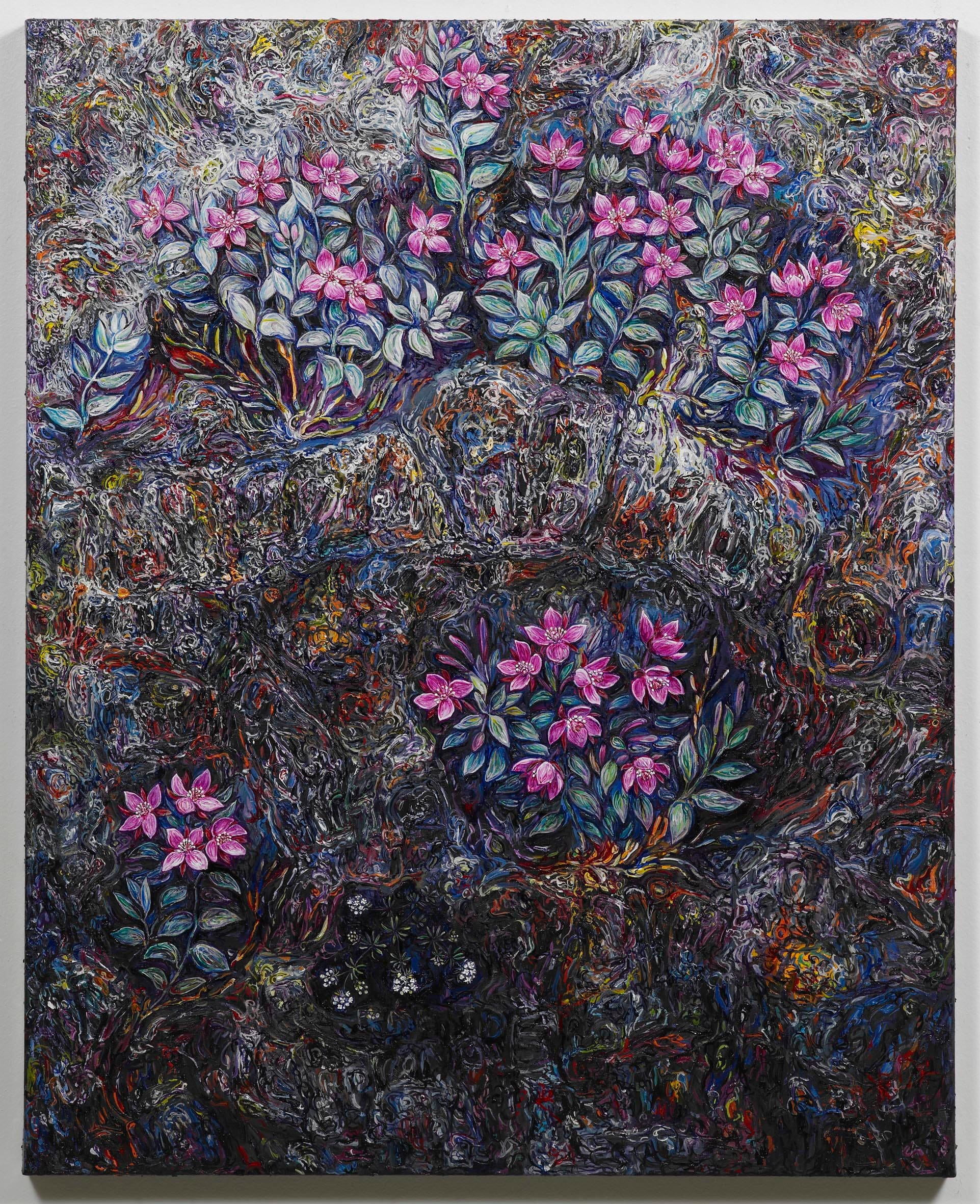 "<span class=""link fancybox-details-link""><a href=""/exhibitions/128/works/artworks8847/"">View Detail Page</a></span><div class=""artist""><strong>EGGERT PÉTURSSON</strong></div><div class=""title""><em>Untitled / Án titils (Eyrarrós)</em>, 2011-2012</div><div class=""signed_and_dated"">signed on back</div><div class=""medium"">oil on canvas / olía á striga</div><div class=""dimensions"">100.0 x 80.0 cm<br>39 1/8 x 31 3/16 in</div>"