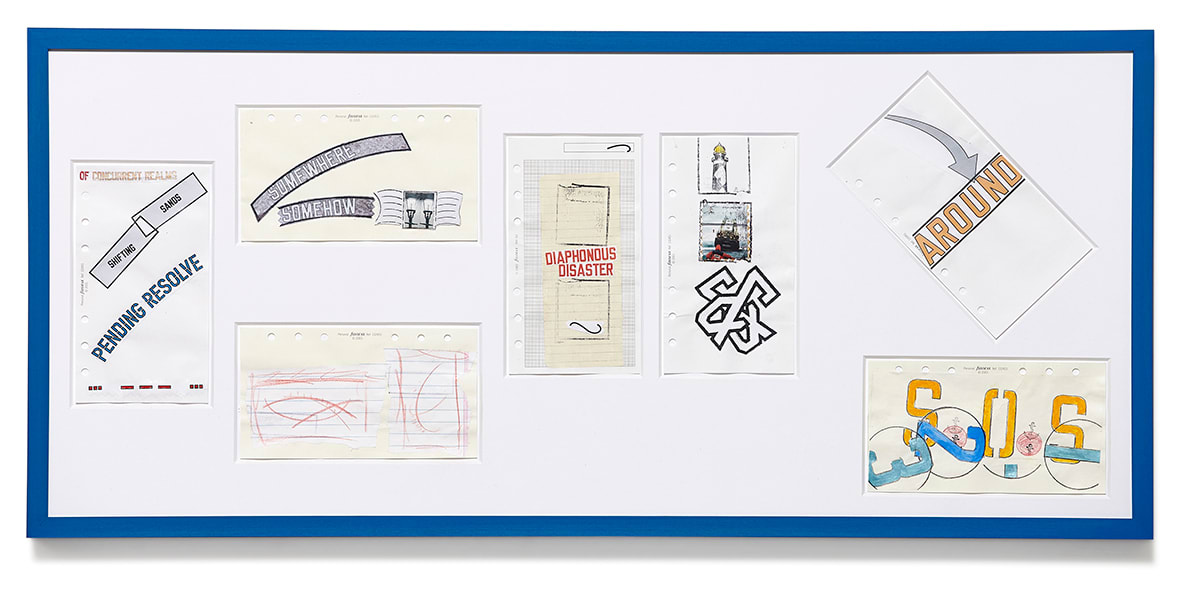 "<span class=""link fancybox-details-link""><a href=""/artists/44-lawrence-weiner/works/9429/"">View Detail Page</a></span><div class=""artist""><strong>LAWRENCE WEINER</strong></div> <div class=""title""><em>SOS</em>, 2013</div> <div class=""medium"">pencil and mixed media on paper</div> <div class=""dimensions"">36,5 x 80,7 cm</div>"