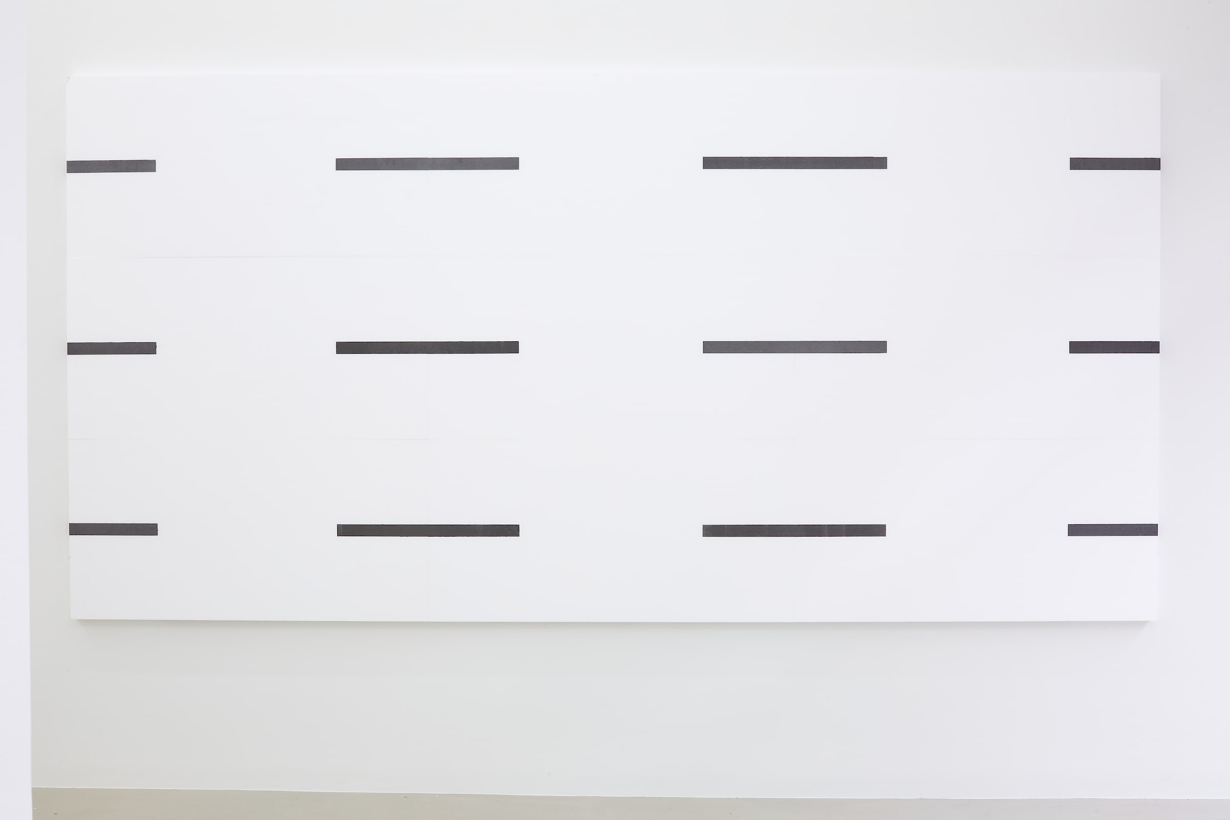 "<span class=""link fancybox-details-link""><a href=""/exhibitions/174/works/artworks16746/"">View Detail Page</a></span>KRISTJÁN GUÐMUNDSSON  Framed Drawing, 2020  solid graphite, polystyrene foam  180 x 360 x 5 cm"