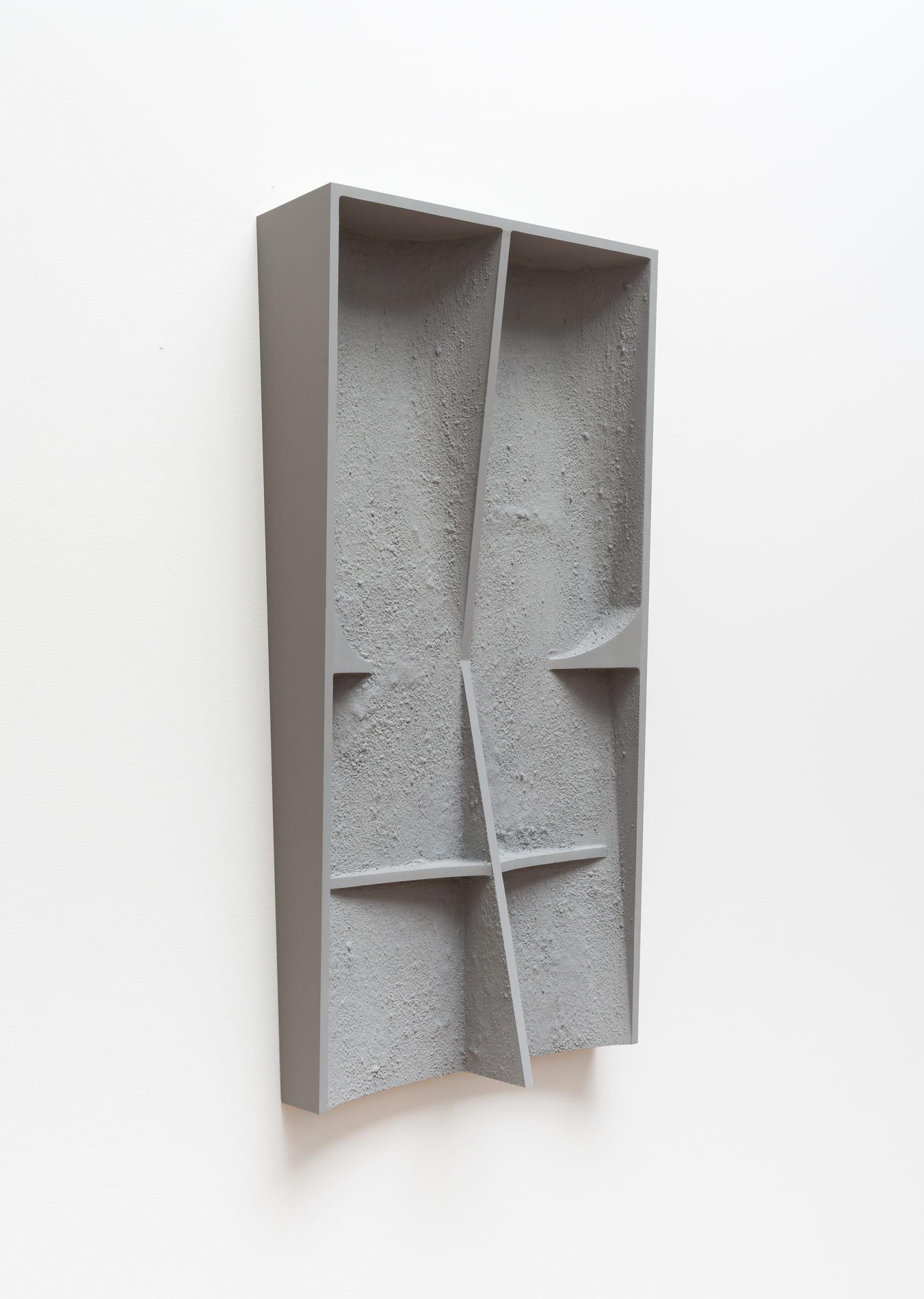 "<span class=""link fancybox-details-link""><a href=""/exhibitions/166/works/artworks15365/"">View Detail Page</a></span><div class=""artist""><strong>B. Ingrid Olson</strong></div><div class=""title""><em>Future Body, plastic drawing</em>, 2017</div><div class=""medium"">PVA size, acrylic, vinyl paint and sand on polyurethane foam</div><div class=""dimensions"">76,2 x 38,1 x 11,43 cm</div>"
