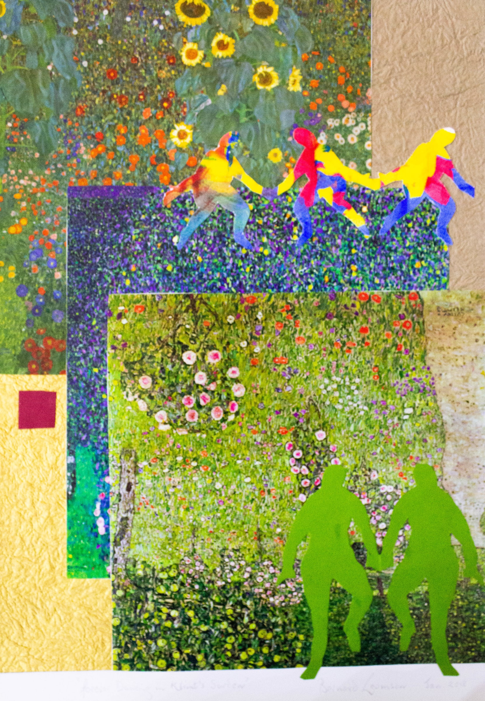<span class=&#34;link fancybox-details-link&#34;><a href=&#34;/artists/45-bernard-levinson/works/322-bernard-levinson-forever-dancing-in-klimt-s-garden-2018/&#34;>View Detail Page</a></span><div class=&#34;artist&#34;><strong>Bernard Levinson</strong></div> <div class=&#34;title&#34;><em>Forever Dancing In Klimt's Garden</em>, 2018</div> <div class=&#34;medium&#34;>Mixed Media on Paper</div> <div class=&#34;dimensions&#34;>51cm x 35.9cm</div>