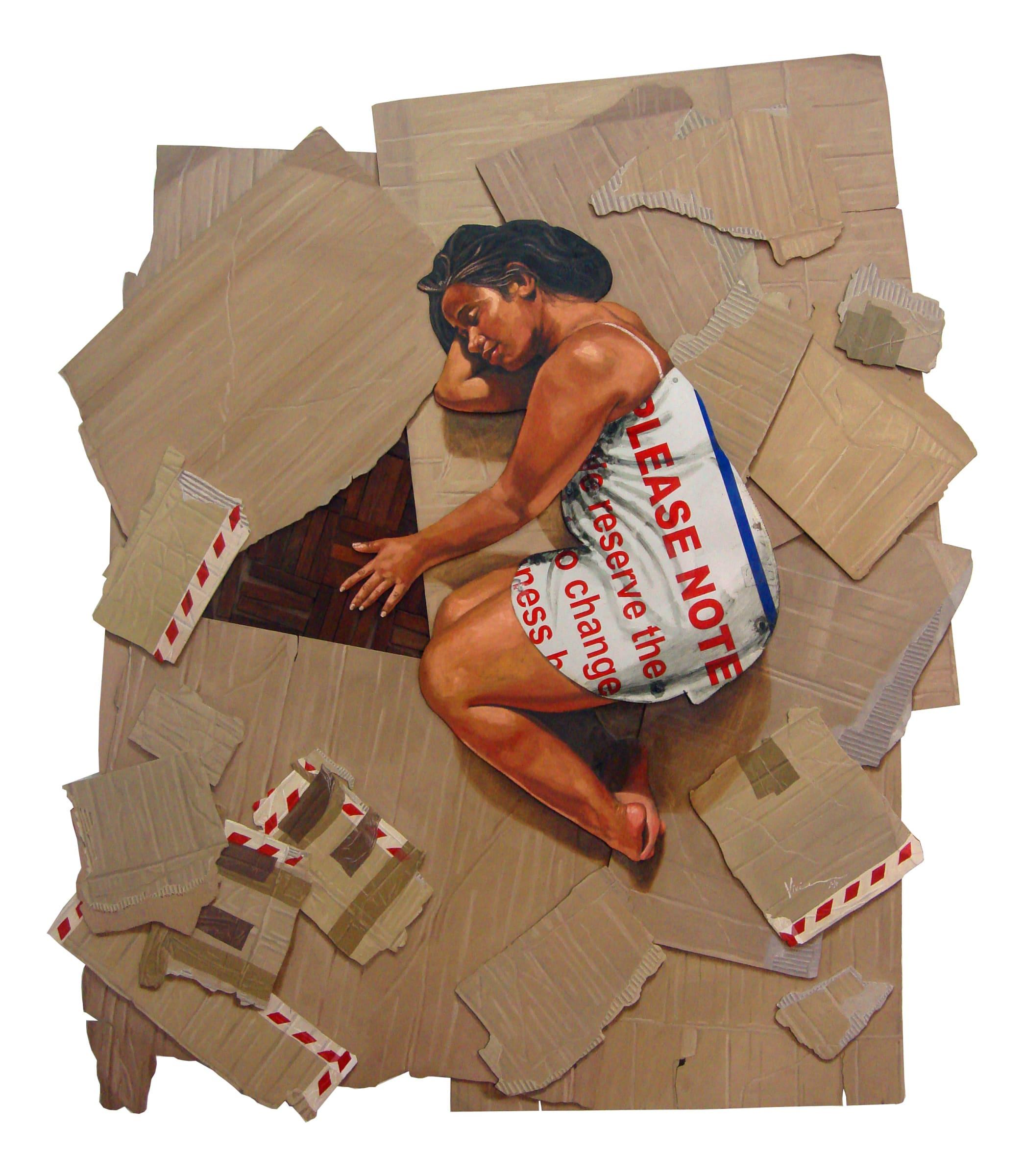 <span class=&#34;link fancybox-details-link&#34;><a href=&#34;/artists/78-vivien-kohler/works/3142-vivien-kohler-those-who-dream-2014/&#34;>View Detail Page</a></span><div class=&#34;artist&#34;><strong>Vivien Kohler</strong></div> <div class=&#34;title&#34;><em>Those Who Dream</em>, 2014</div> <div class=&#34;medium&#34;>Parquet, Grout, Found Metal & Oil On Board</div> <div class=&#34;dimensions&#34;>175cm x 150cm</div><div class=&#34;price&#34;>R34,000.00</div>