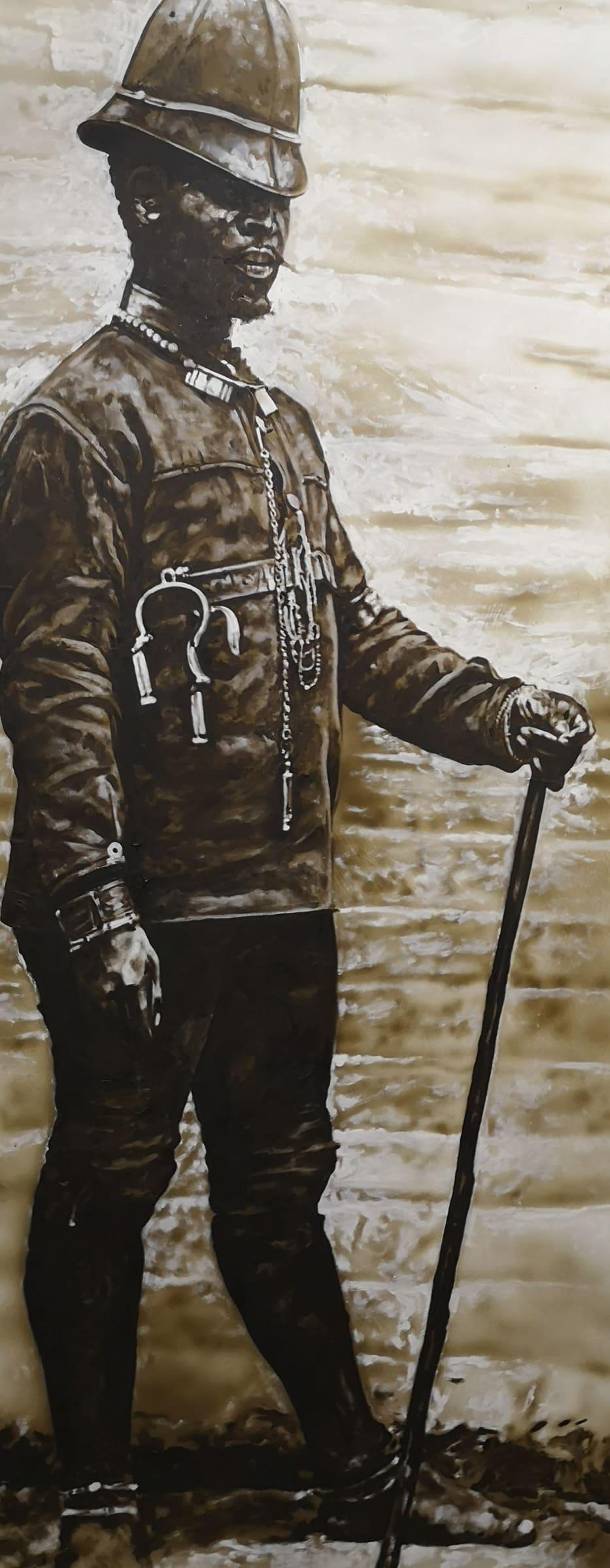 <span class=&#34;link fancybox-details-link&#34;><a href=&#34;/artists/73-sascha-%26-tashi-stylianou/works/3175-sascha-tashi-stylianou-black-bobbie-1-2015/&#34;>View Detail Page</a></span><div class=&#34;artist&#34;><strong>Sascha & Tashi Stylianou</strong></div> <div class=&#34;title&#34;><em>Black Bobbie 1</em>, 2015</div> <div class=&#34;medium&#34;>Oils & Acrylic Spray On Reclaimed Door </div> <div class=&#34;dimensions&#34;>202cm x 81cm x 4cm</div><div class=&#34;price&#34;>R10,000.00</div>
