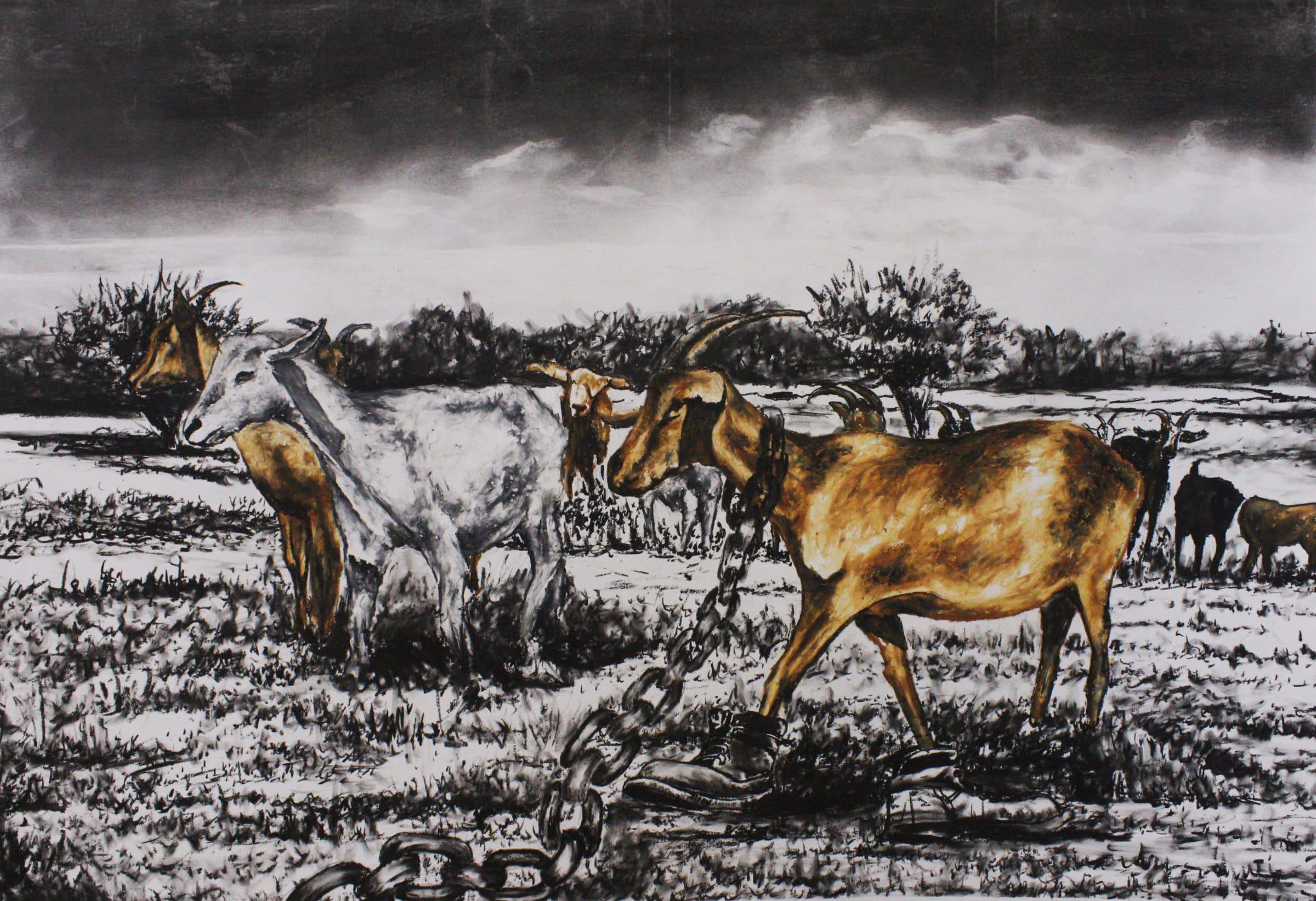 <span class=&#34;link fancybox-details-link&#34;><a href=&#34;/artists/98-walter-fumani-maluleke/works/1575-walter-fumani-maluleke-vuhlonga-a-byi-heli-2018/&#34;>View Detail Page</a></span><div class=&#34;artist&#34;><strong>Walter Fumani Maluleke</strong></div> <div class=&#34;title&#34;><em>Vuhlonga A Byi Heli</em>, 2018</div> <div class=&#34;medium&#34;>Charcoal On Frabriano Paper</div> <div class=&#34;dimensions&#34;>118.5cm x 84.5cm (135cm x 101cm framed)</div><div class=&#34;price&#34;>R12,000.00</div>