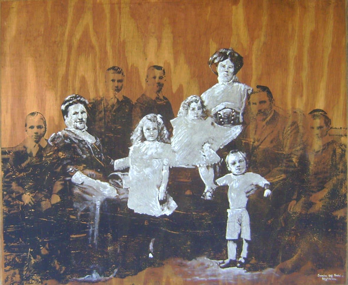<span class=&#34;link fancybox-details-link&#34;><a href=&#34;/artists/73-sascha-%26-tashi-stylianou/works/3182-sascha-tashi-stylianou-women-and-children-first-emmarentia-geldenhuys-2015/&#34;>View Detail Page</a></span><div class=&#34;artist&#34;><strong>Sascha & Tashi Stylianou</strong></div> <div class=&#34;title&#34;><em>Women And Children First (Emmarentia Geldenhuys)</em>, 2015</div> <div class=&#34;medium&#34;>Oils & Print On Reclaimed Pressed Pine Board </div> <div class=&#34;dimensions&#34;>116.5cm x 100cm x 3cm</div><div class=&#34;price&#34;>R10,000.00</div>