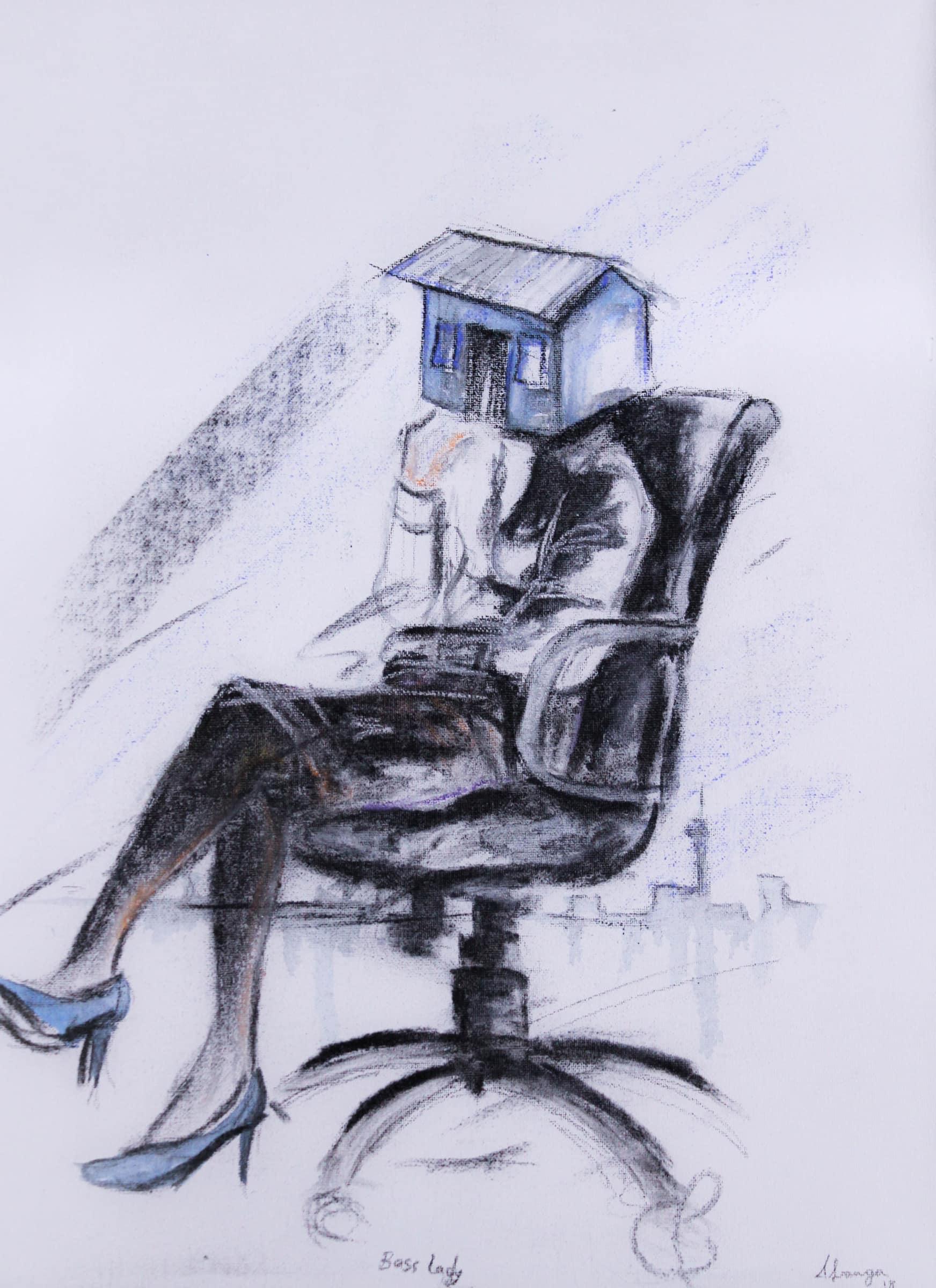 <span class=&#34;link fancybox-details-link&#34;><a href=&#34;/artists/54-azael-langa/works/2118-azael-langa-boss-lady-2018/&#34;>View Detail Page</a></span><div class=&#34;artist&#34;><strong>Azael Langa</strong></div> <div class=&#34;title&#34;><em>Boss Lady</em>, 2018</div> <div class=&#34;medium&#34;>Mixed Media On Fabriano Paper</div> <div class=&#34;dimensions&#34;>51cm x 40cm (65cm x 54cm framed)</div>