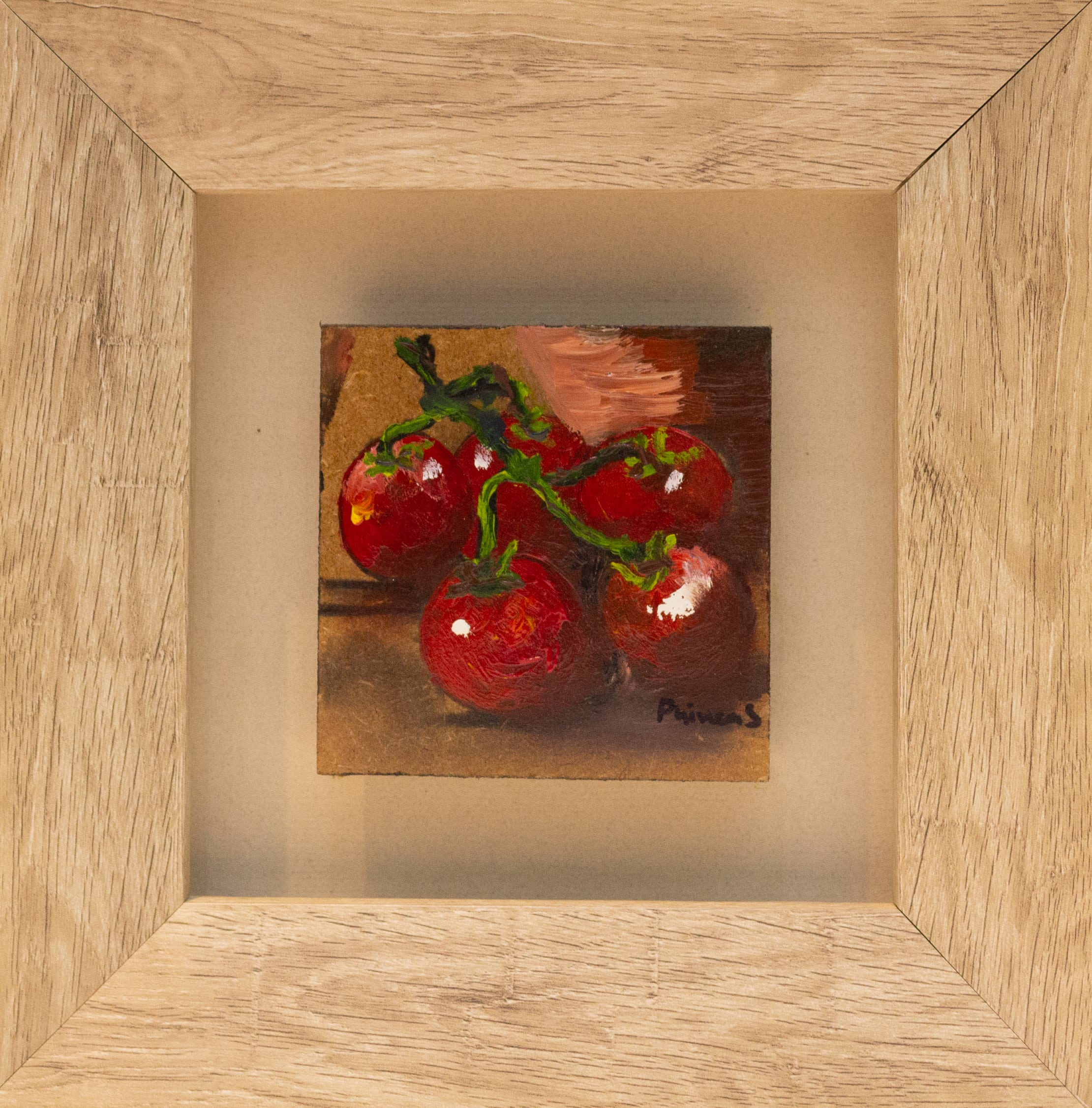 <span class=&#34;link fancybox-details-link&#34;><a href=&#34;/artists/102-phineas-malema/works/2708-phineas-malema-four-tomatoes-2017/&#34;>View Detail Page</a></span><div class=&#34;artist&#34;><strong>Phineas Malema</strong></div> <div class=&#34;title&#34;><em>Four Tomatoes</em>, 2017</div> <div class=&#34;medium&#34;>Oil On Board</div> <div class=&#34;dimensions&#34;>24cm x 24cm x 4.5cm</div><div class=&#34;price&#34;>R700.00</div>